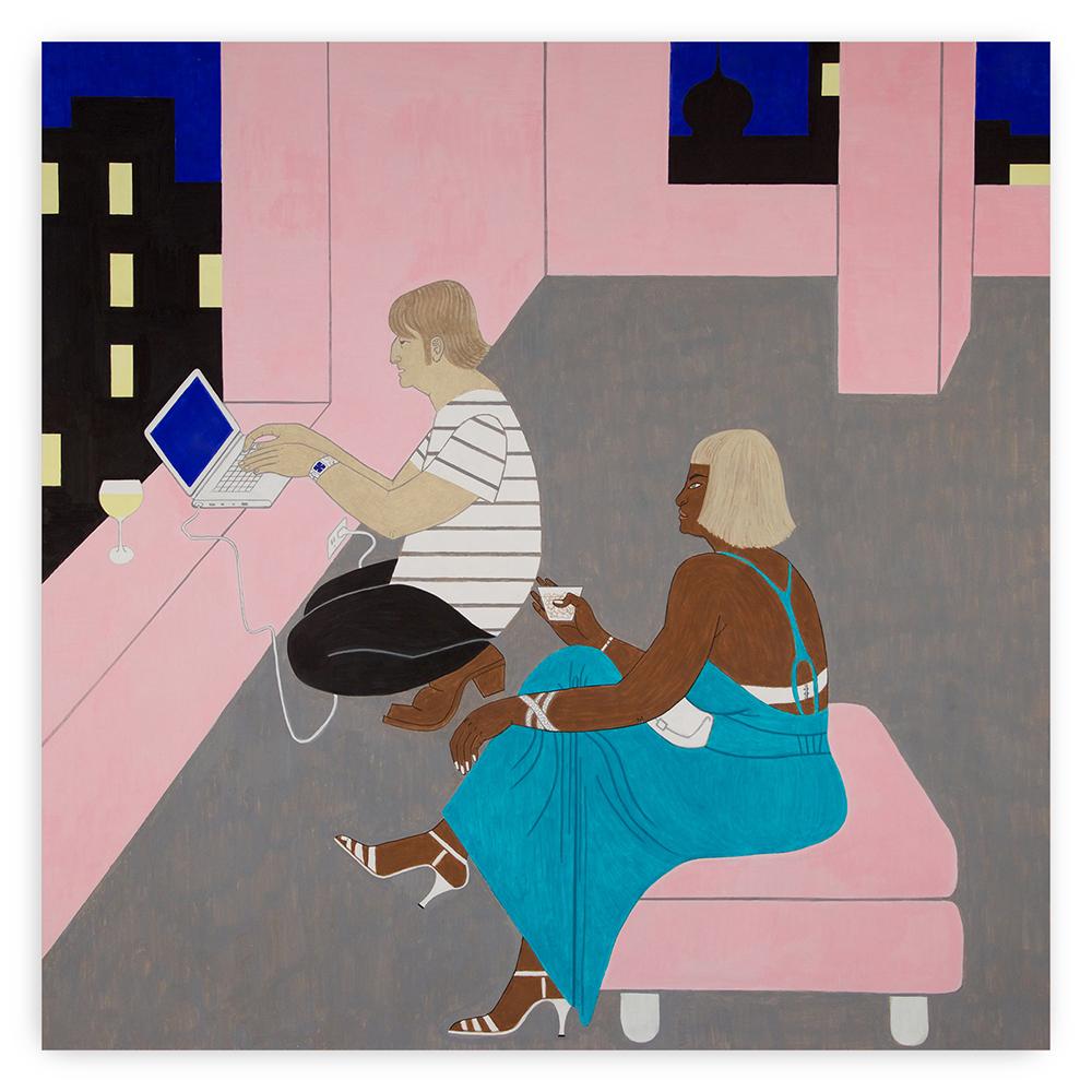Yves Tessier - Pink Loft