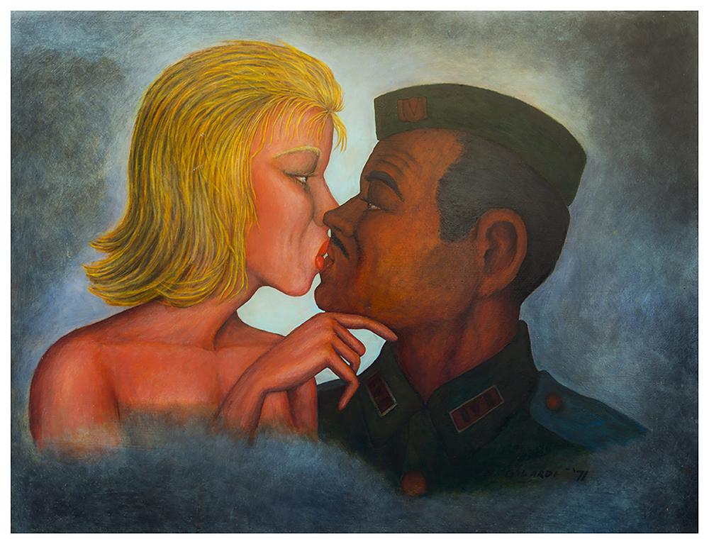 Bernard Gilardi, Untitled (kissing couple)