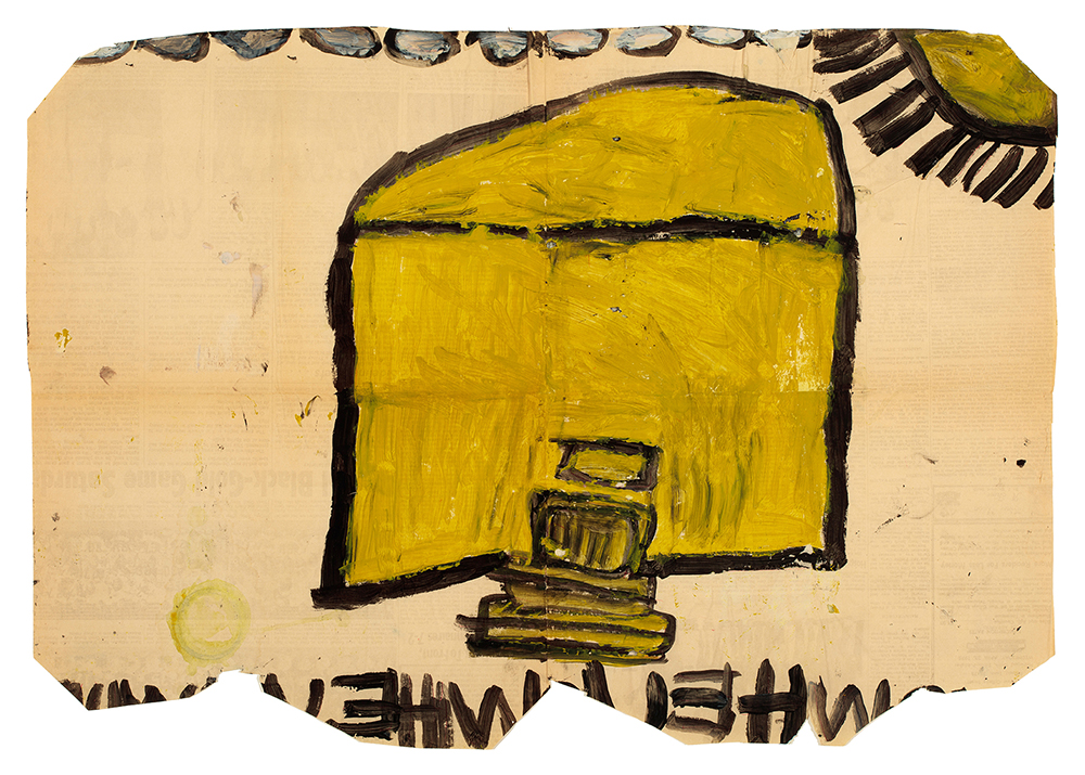 Laura Craig McNellis, Untitled (yellow house)