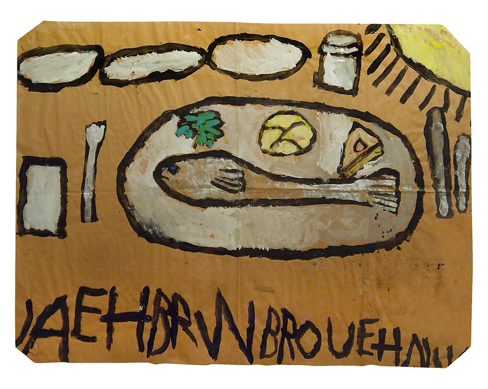 Laura Craig McNellis, Untitled (fish dinner)