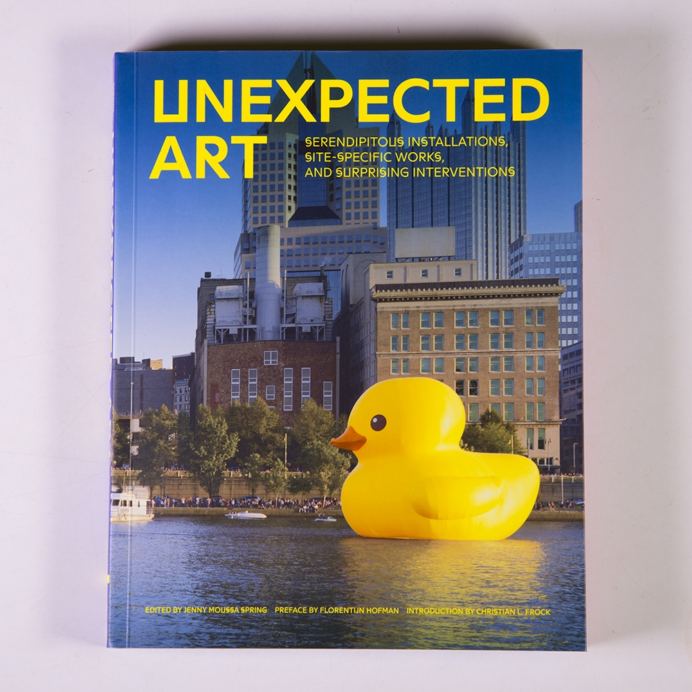 Unexpected Art  (Chronicle Books),  2015