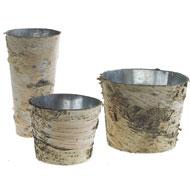 Birch Bark Pots