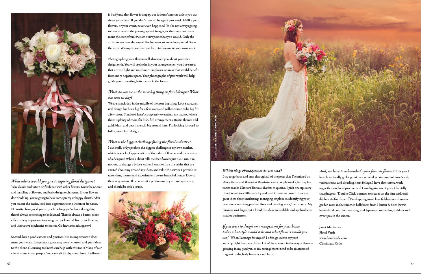 Flirty FleursMagazine , December 2014
