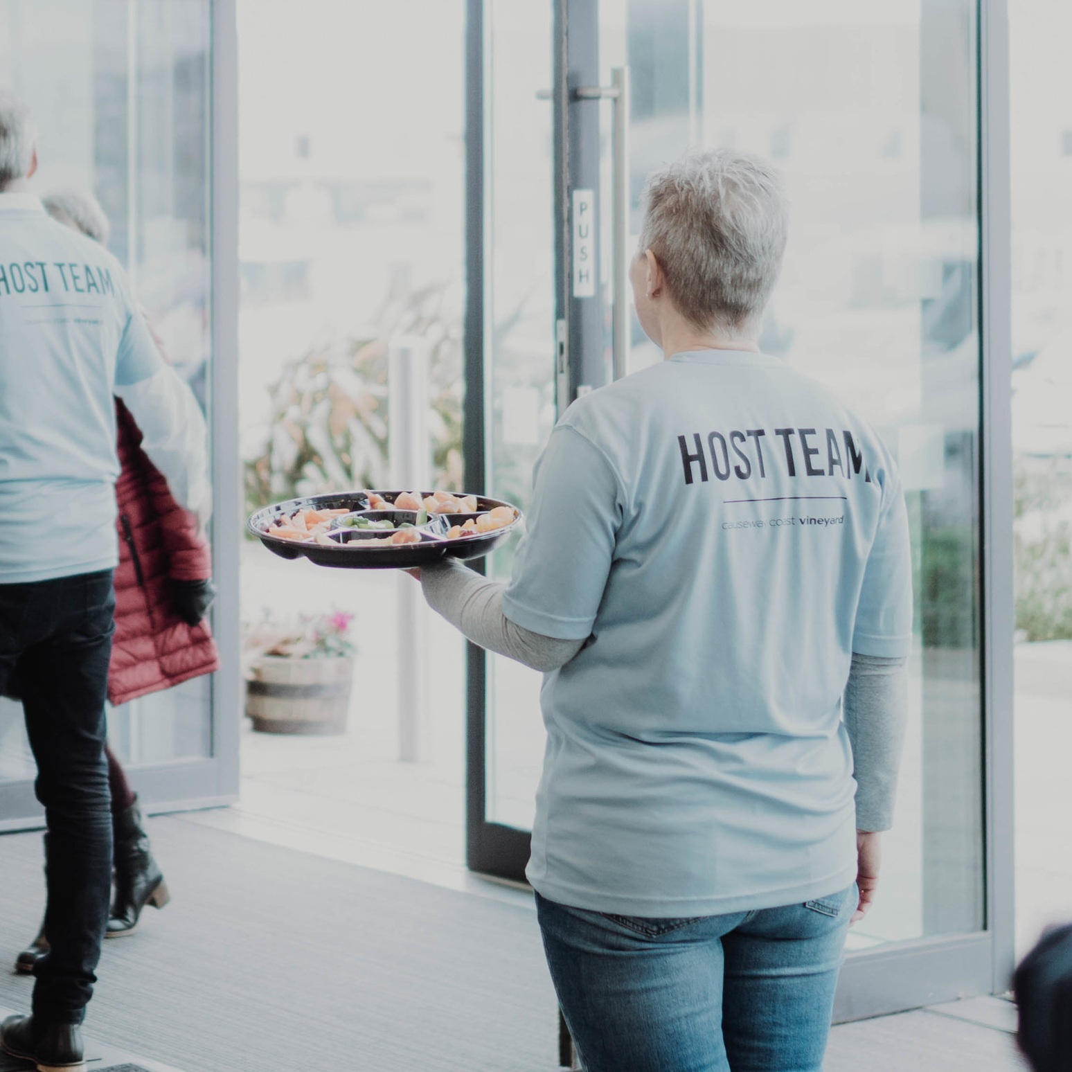 Thinking about coming to Causeway Coast Vineyard this Sunday? You may find it helpful to connect with someone at the start of the service through our 'Meet & Greet''. One of our newcomers team will connect with you in the foyer when you arrive, welcome you and show you to a seat!
