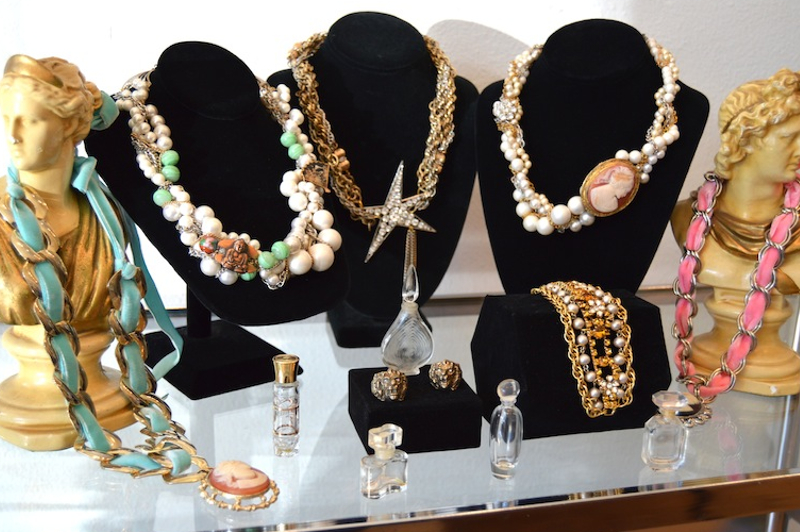 A selection of pieces from our Frisk Accessories boutique