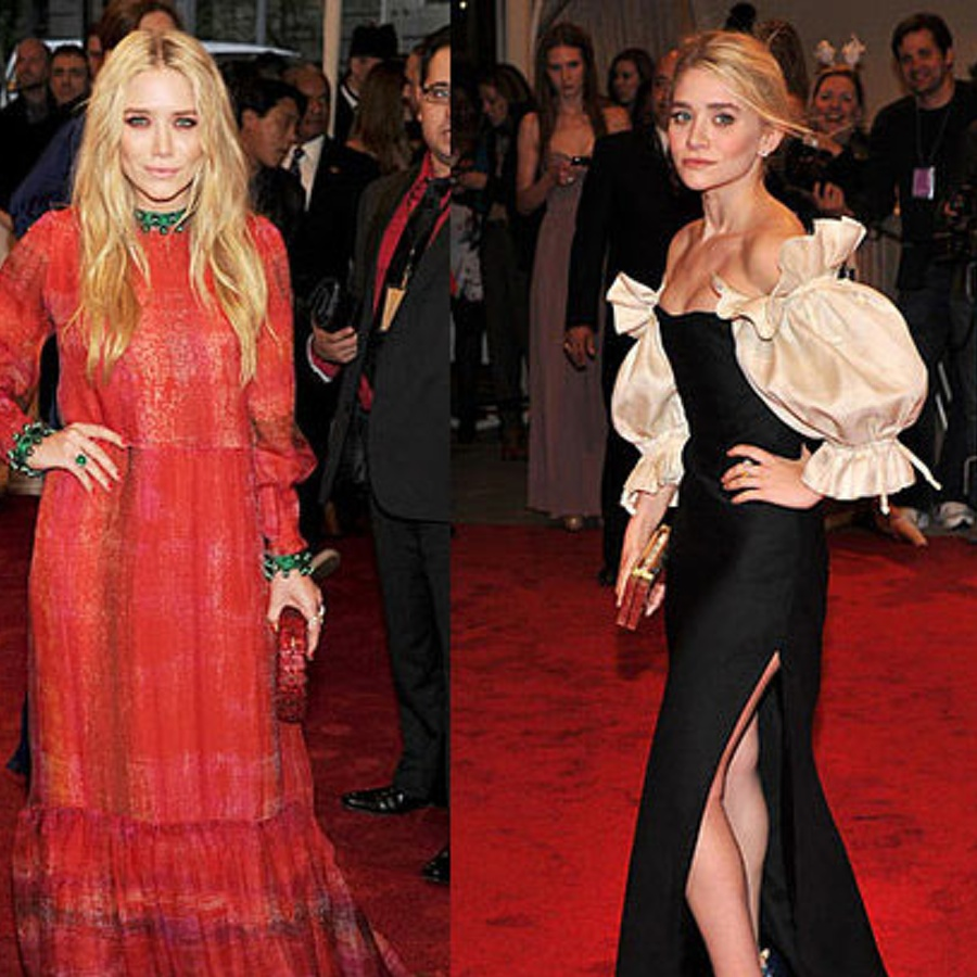 The Olsen twins wear vintage on the regs, and always make it look modern and chic