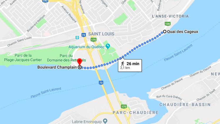 Clique sur l'image pour voir le parcours dans Google!