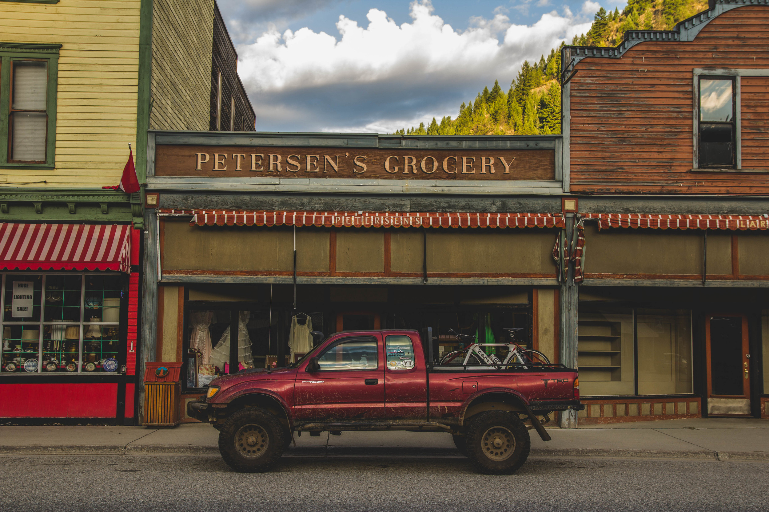 A quick stop in Greenwood, BC for coffee.