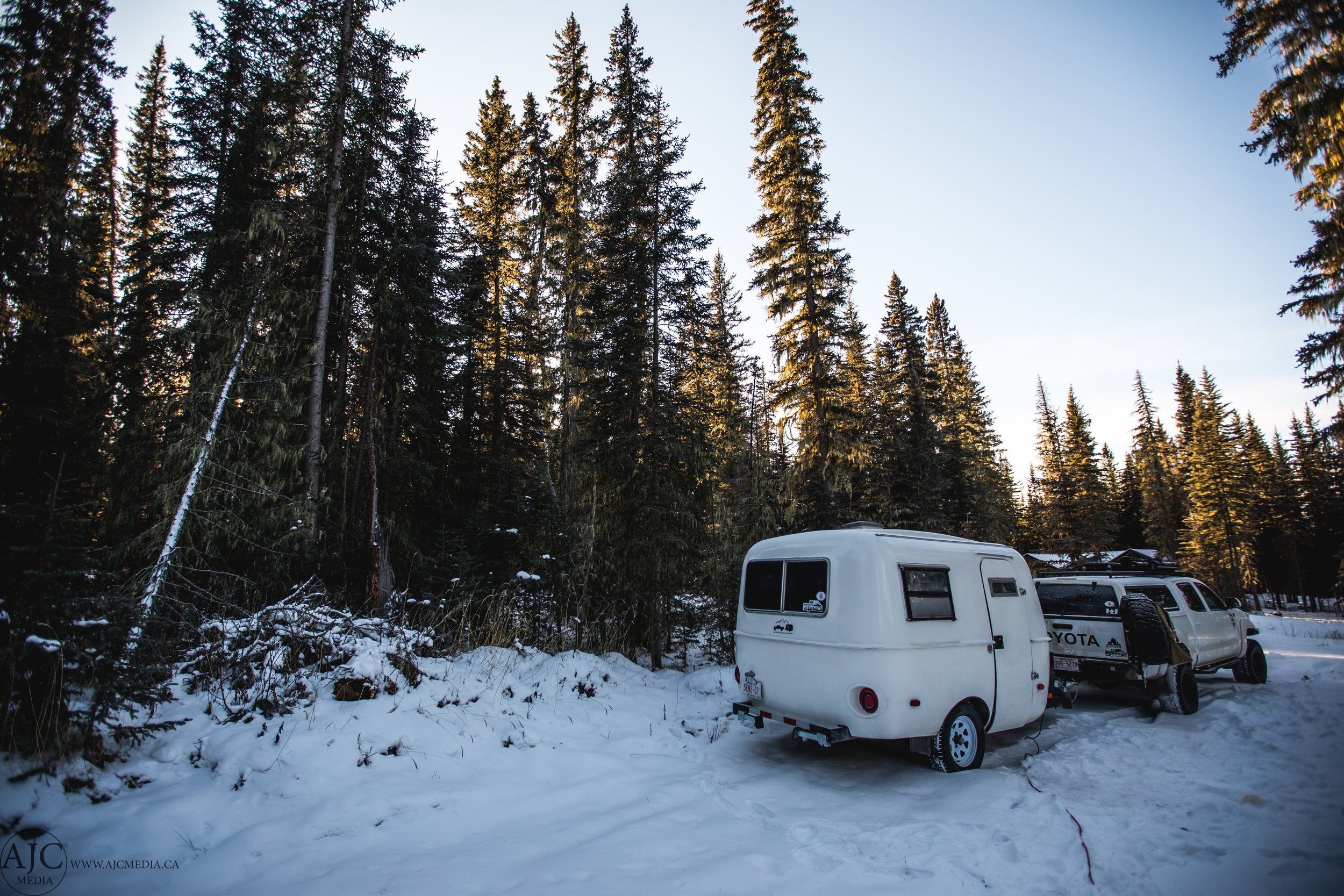 Our Nordegg campsite.