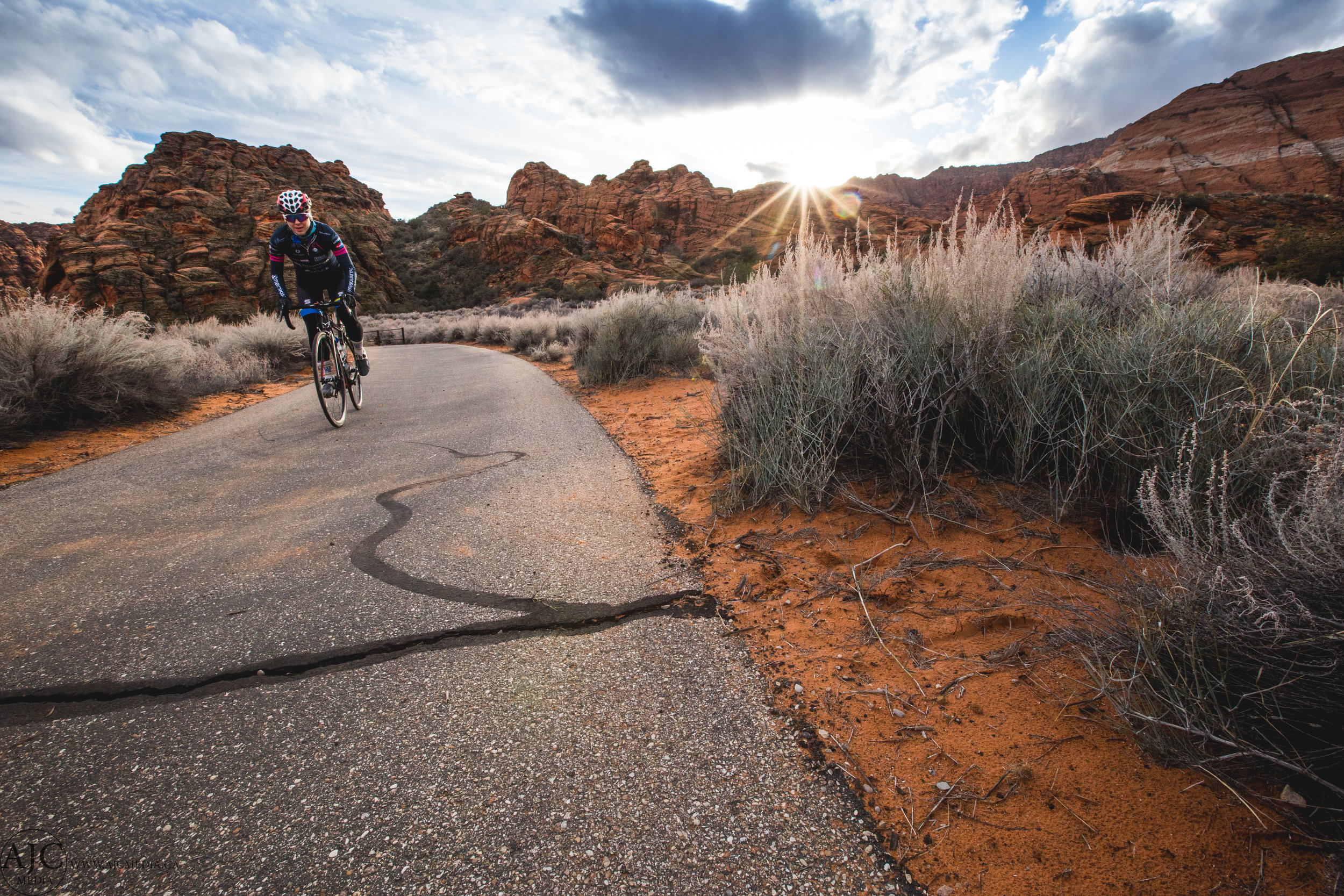 Snow Canyon has some great bike trails too...for road riding mostly though.