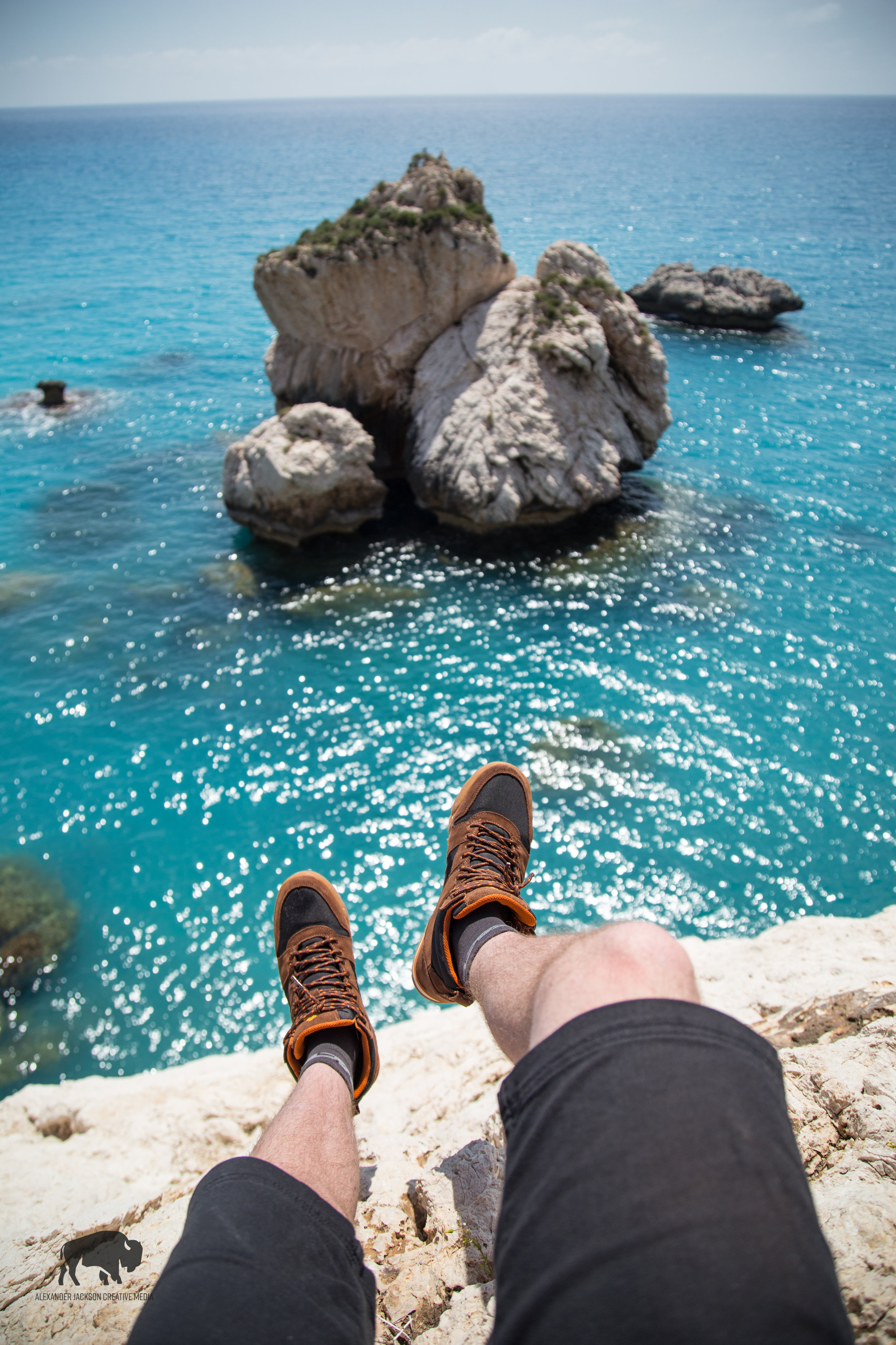 Mediterranean sea anyone? Loving my new kicks also, check out Ridgemont Outfitters, COMFY SHOES!