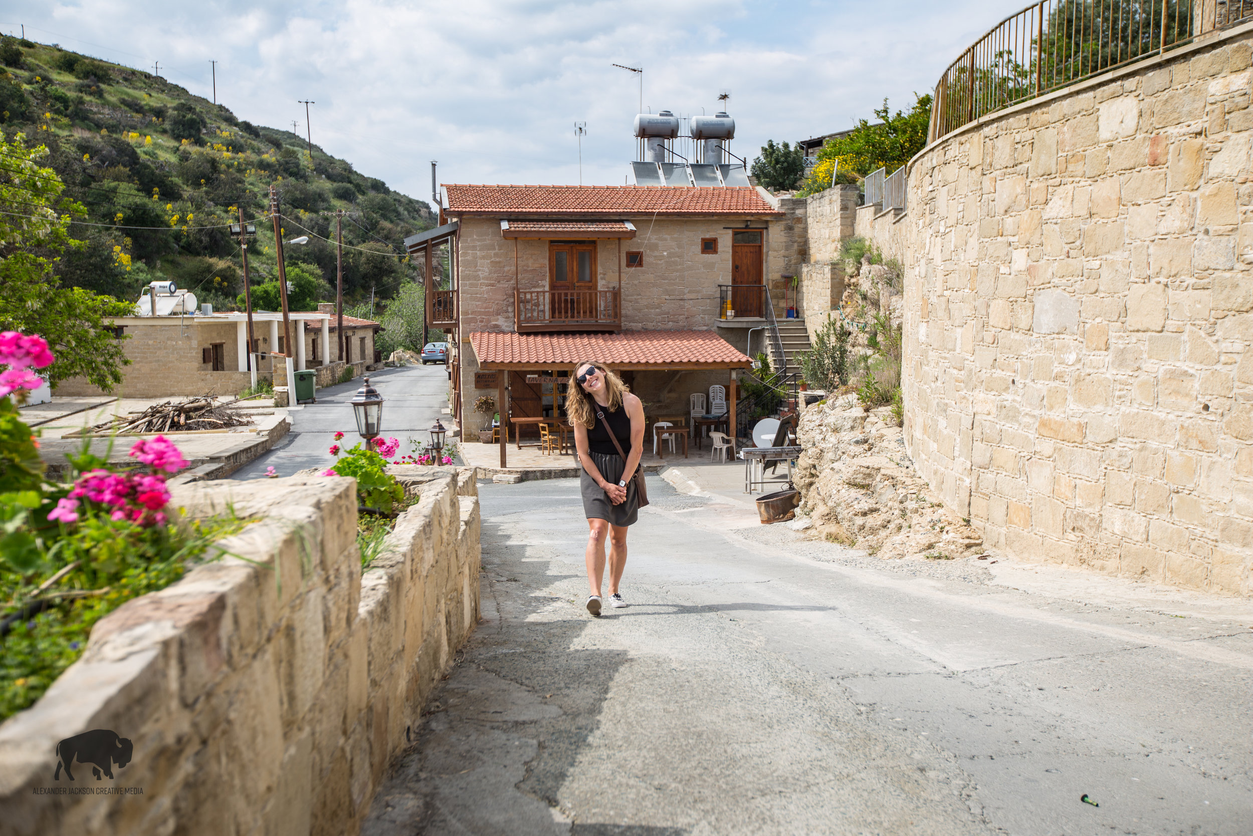Tochni, Cyprus is a beautiful village nestled in between two hills on the way to Larnaca from Limassol.