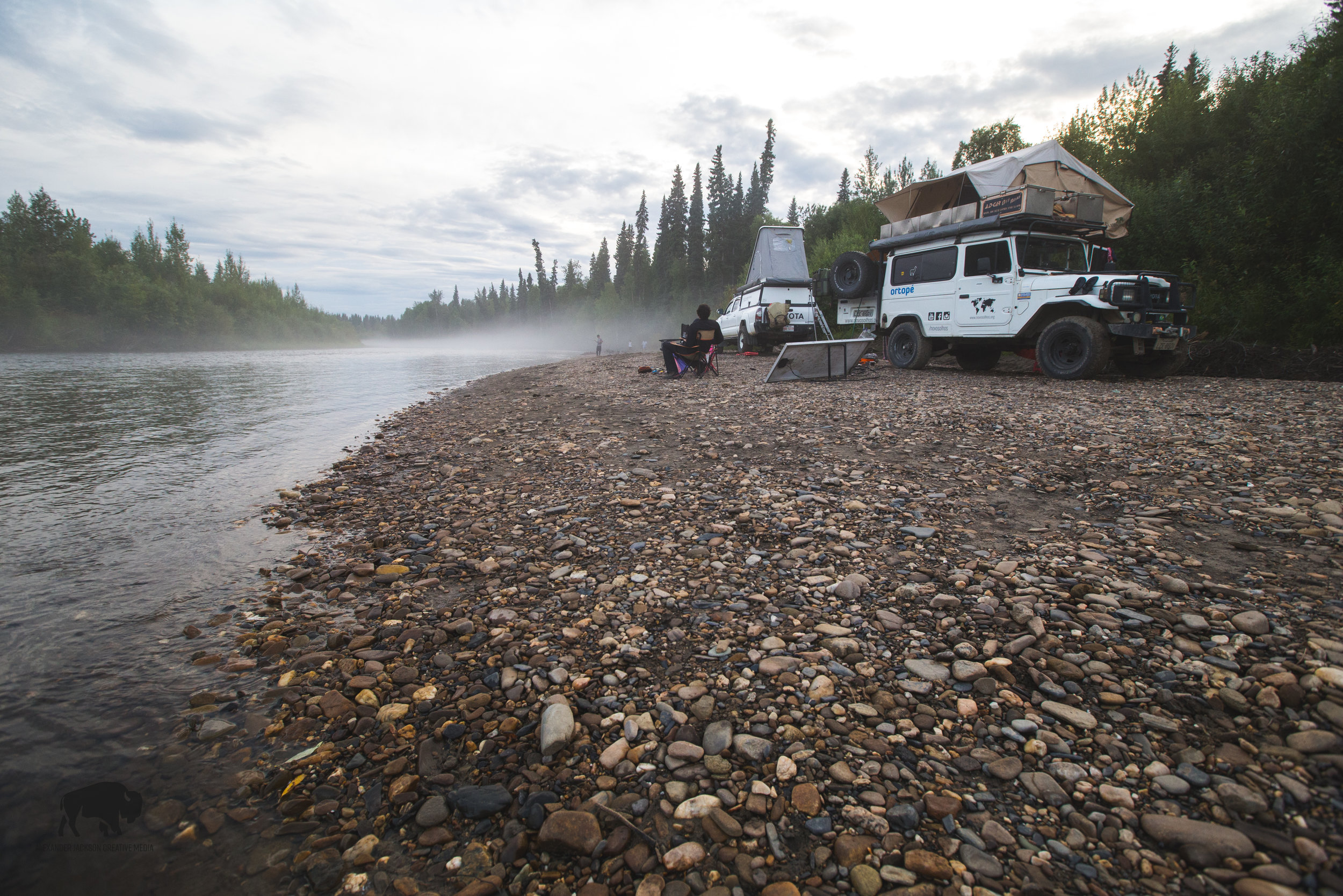 One of my favorite photos of my Chena River stay.