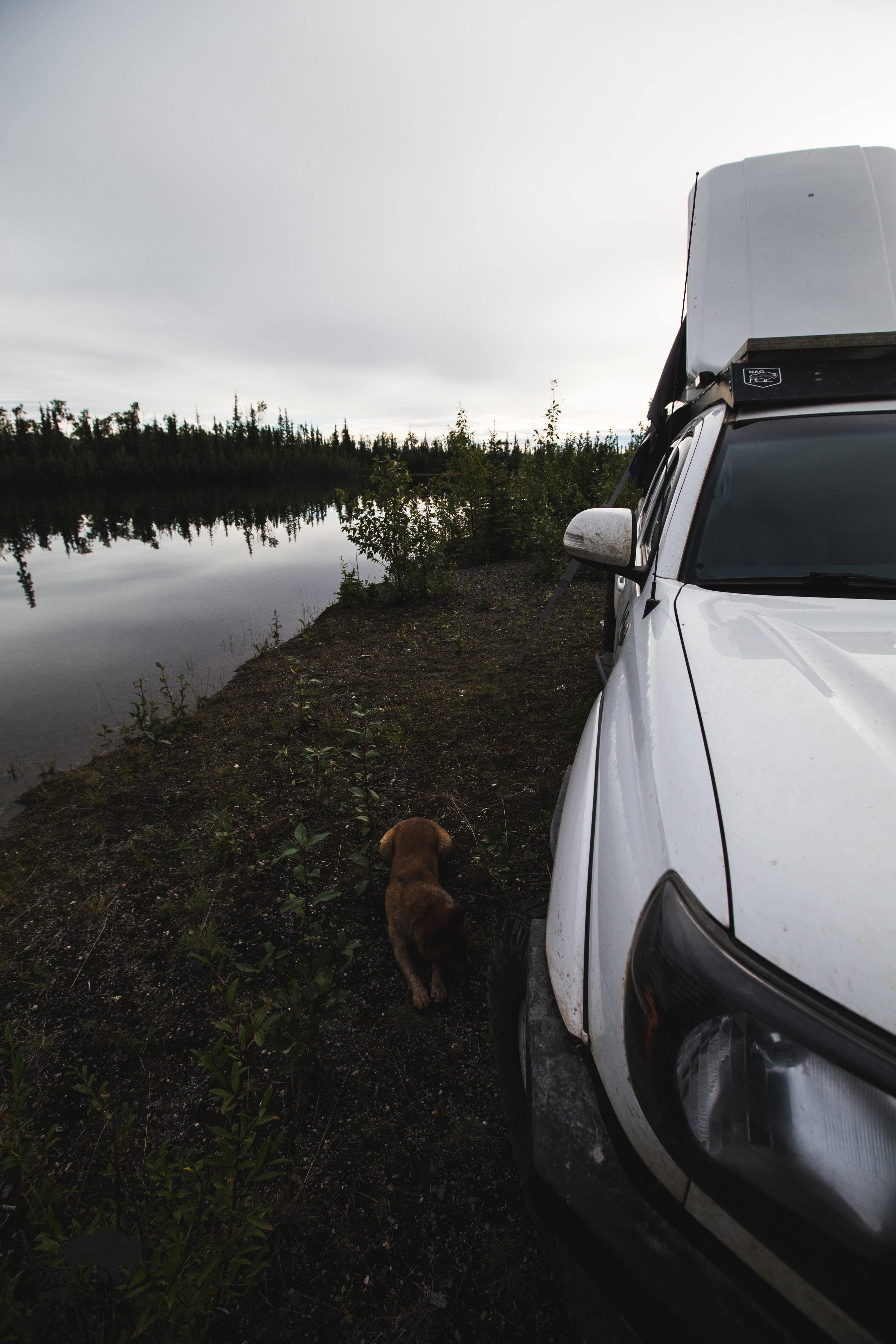 My little lake-side paradise.