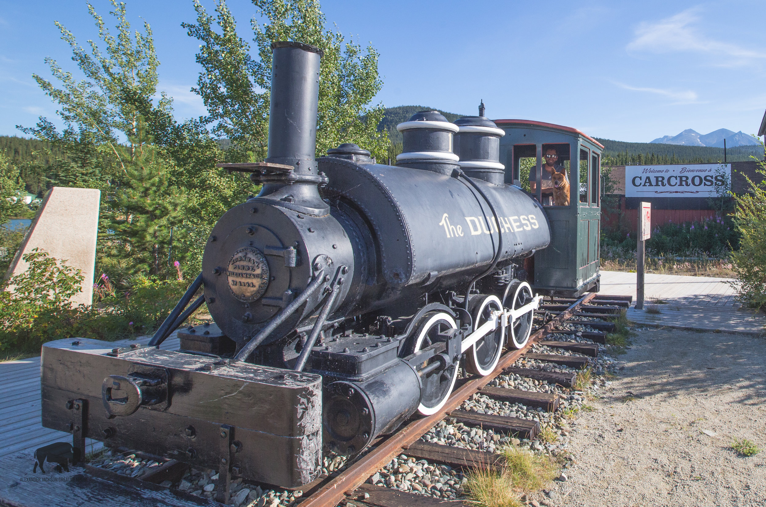 One of the earlier trains to take passengers to Skagway.