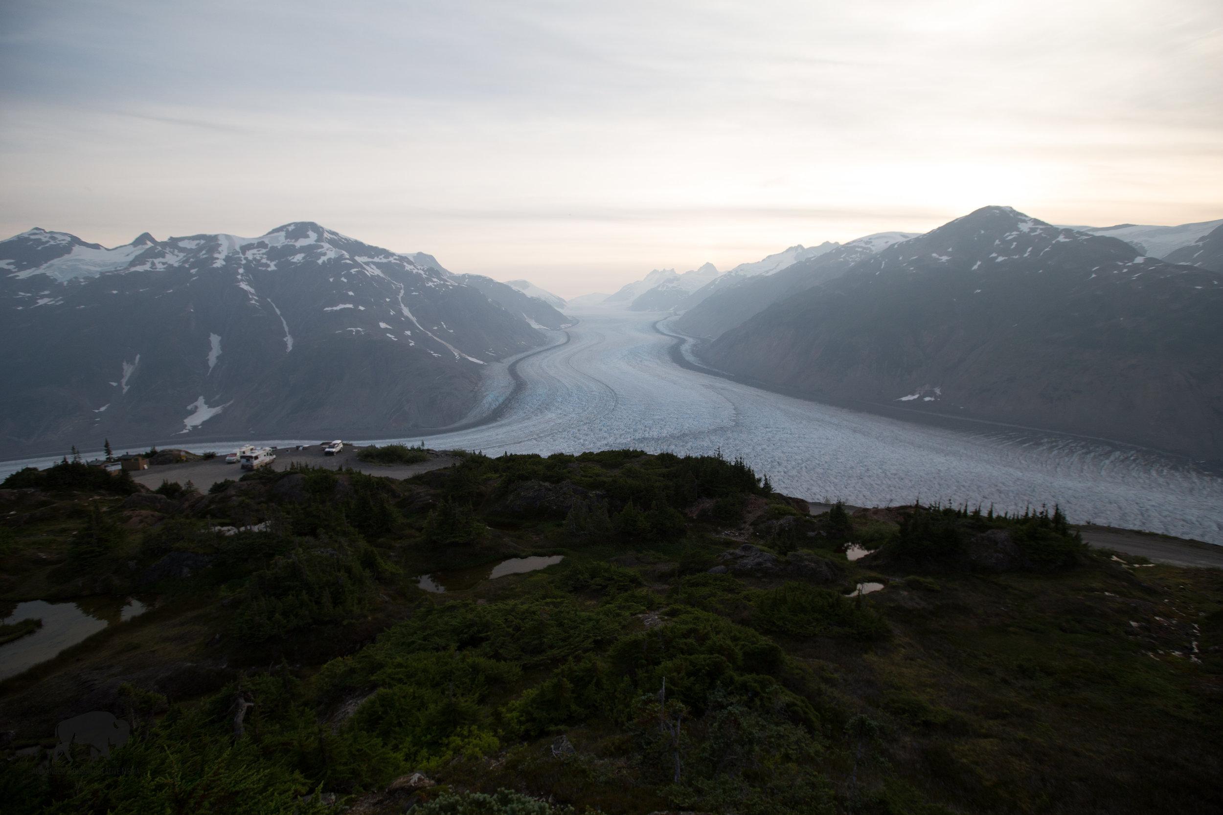 That's a big glacier.