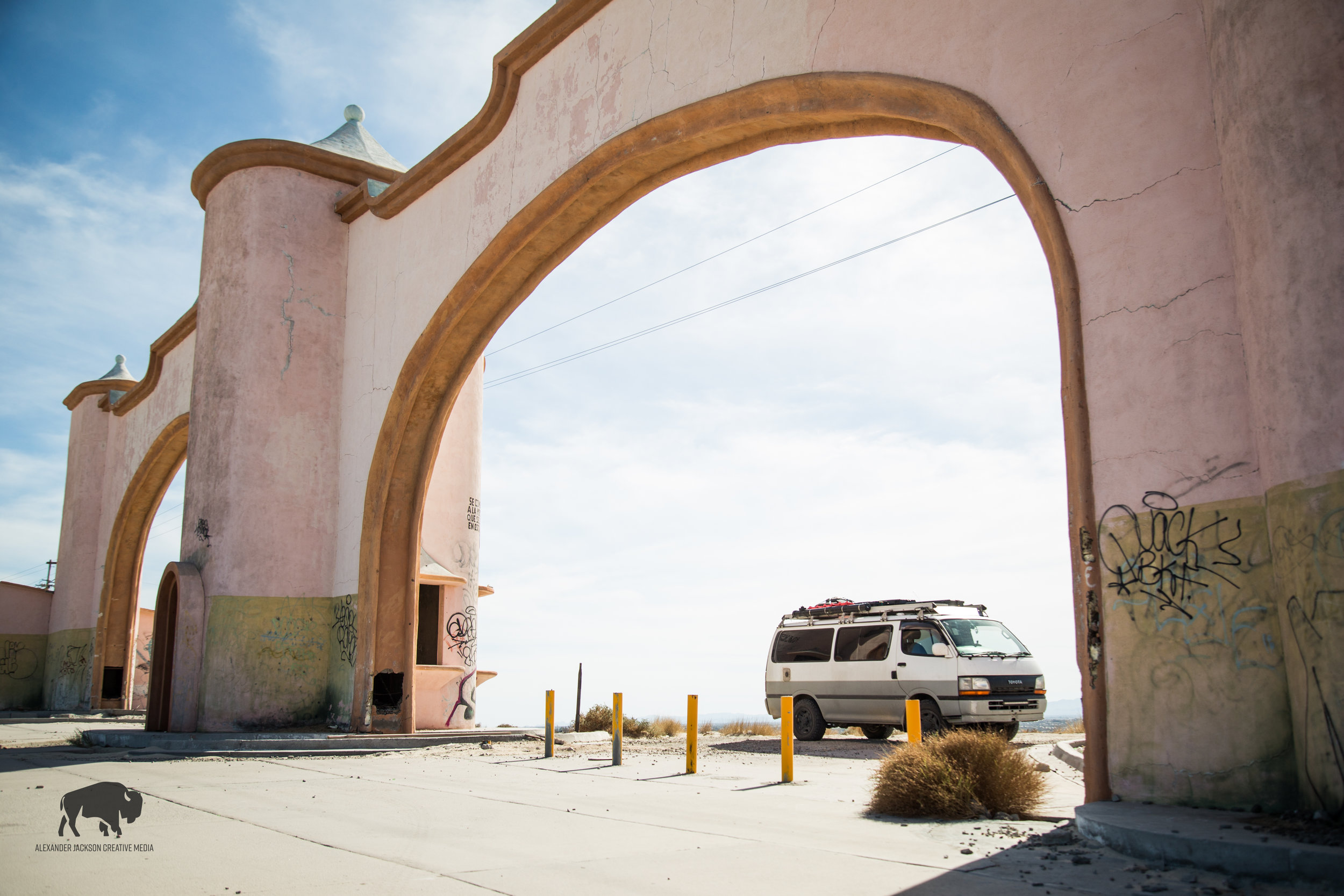 One of the last places I drove through before making it back in the the USA, San Felipe.  I realized too late that we should have traveled on the Sea of Cortez side of Baja.