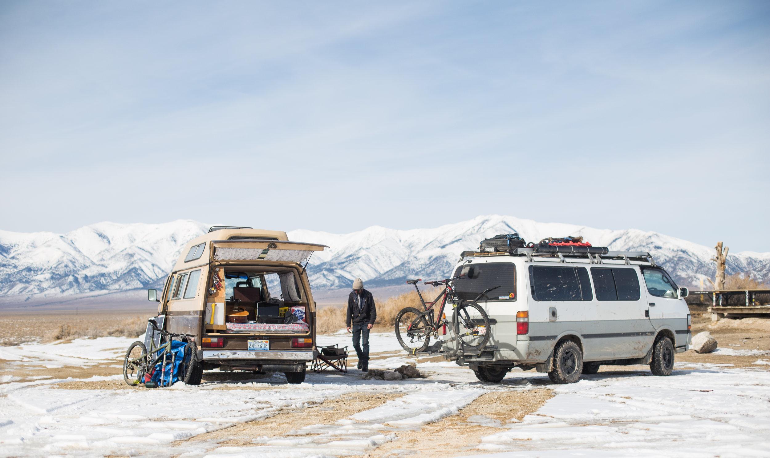 Making van friends along the way, as always.
