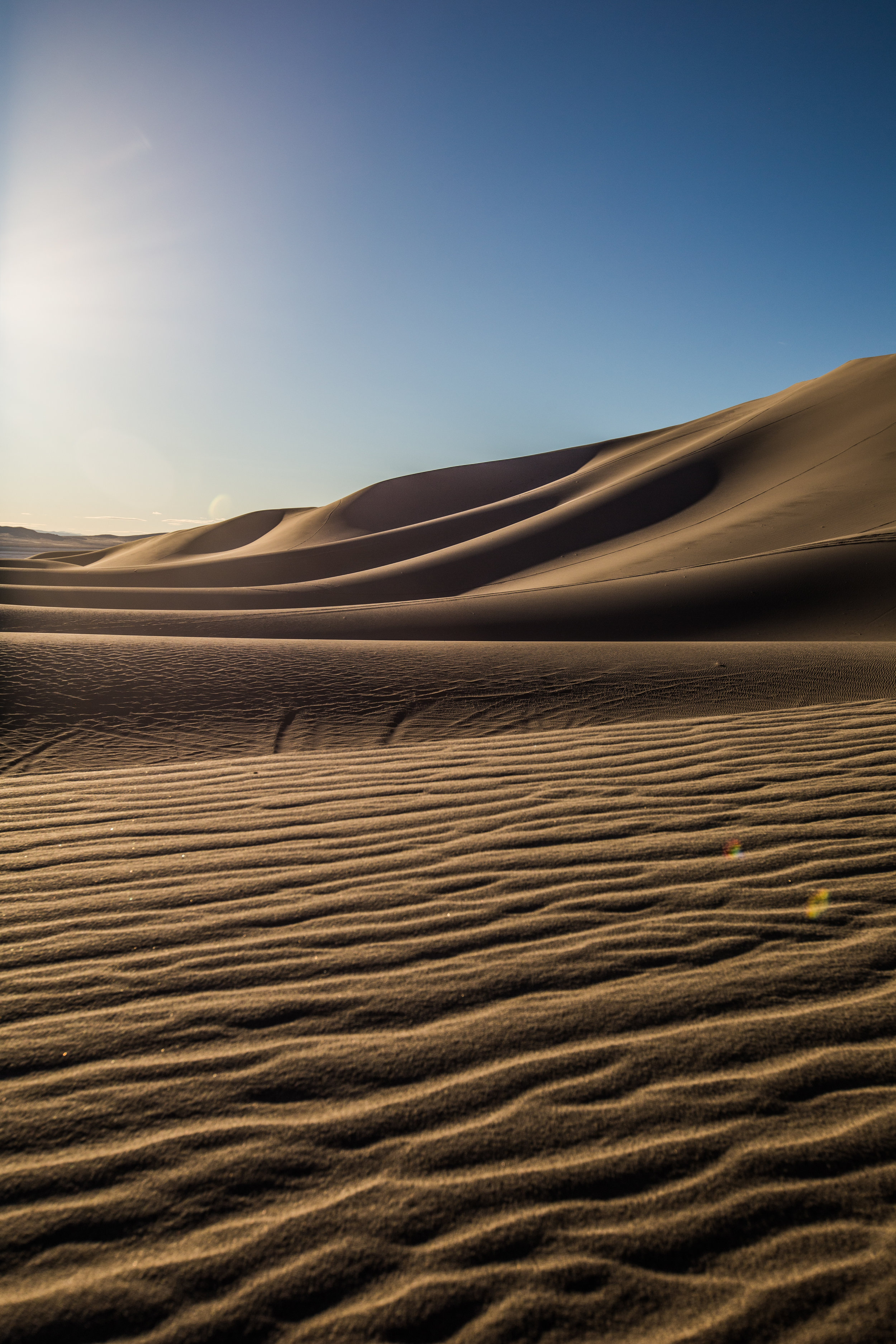 Sand Mountain State Recreation Area, Nevada.