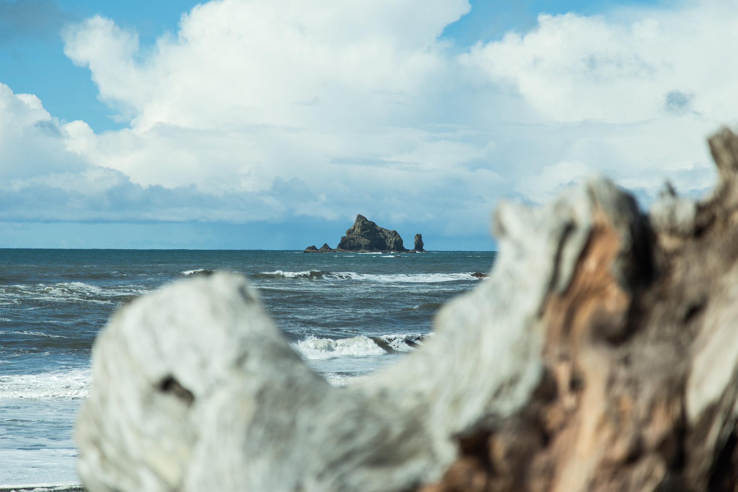 Rialto Beach, Washington.