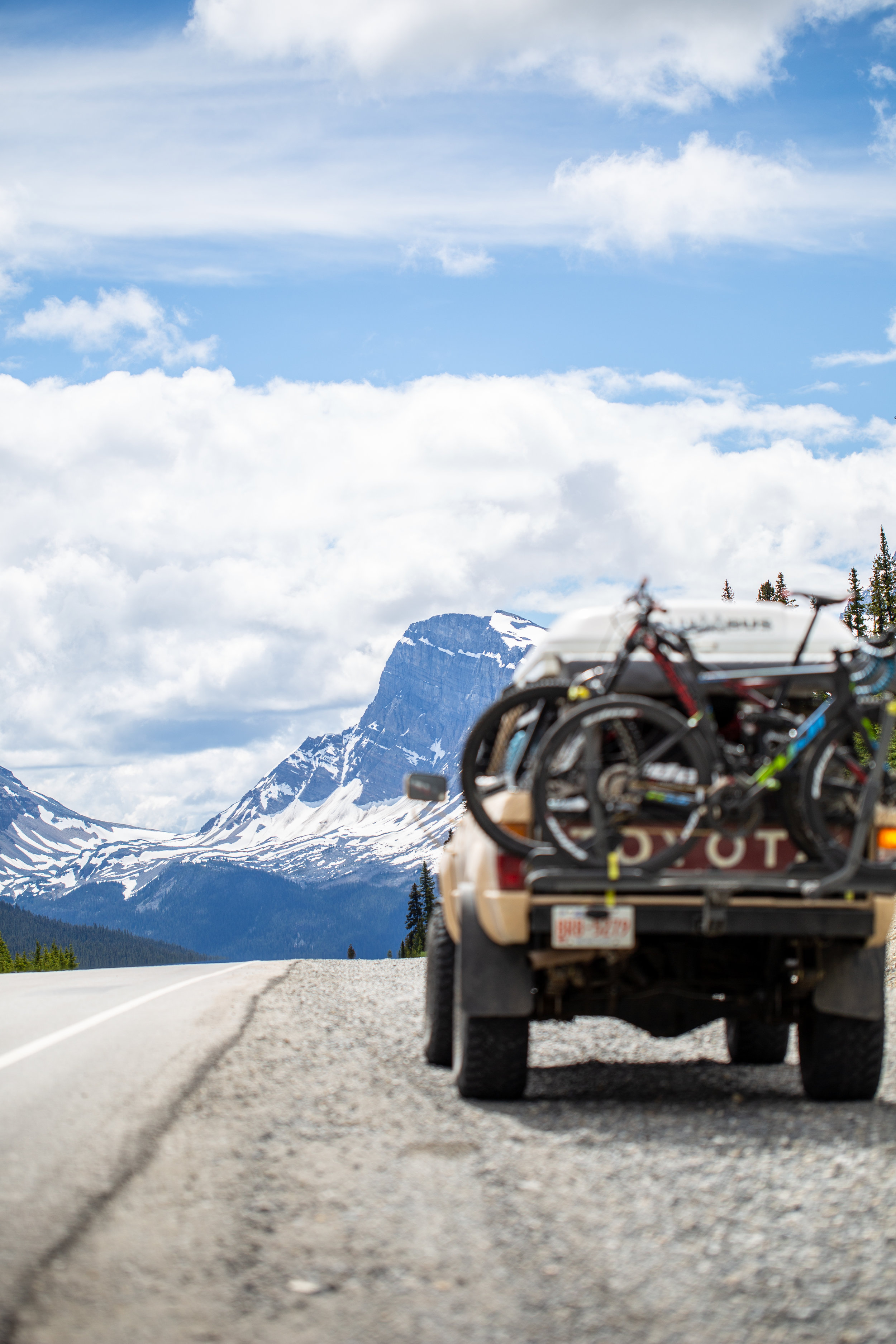Icefield Parkway views never disappoint.