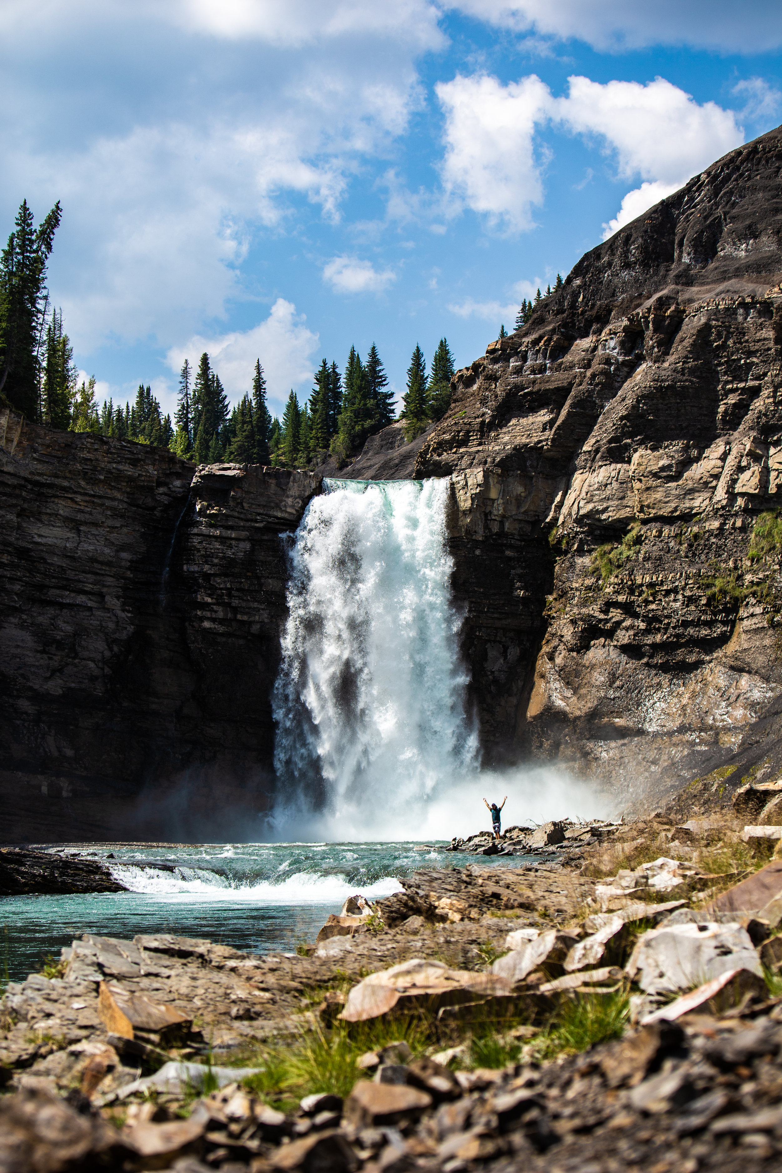 Huzzah, waterfalls!