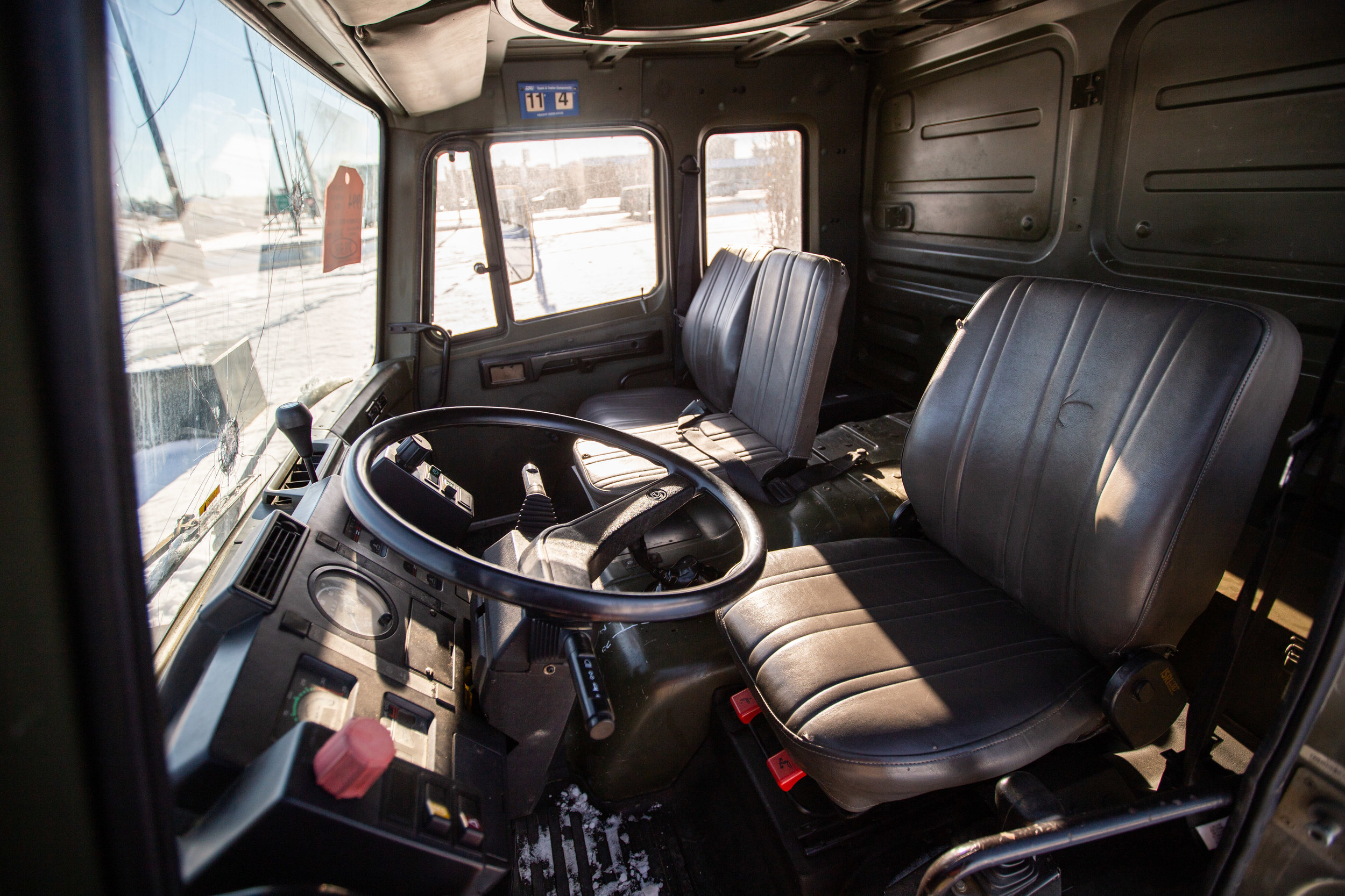Big open interior, great for stretching out and enjoying a leisurely drive.