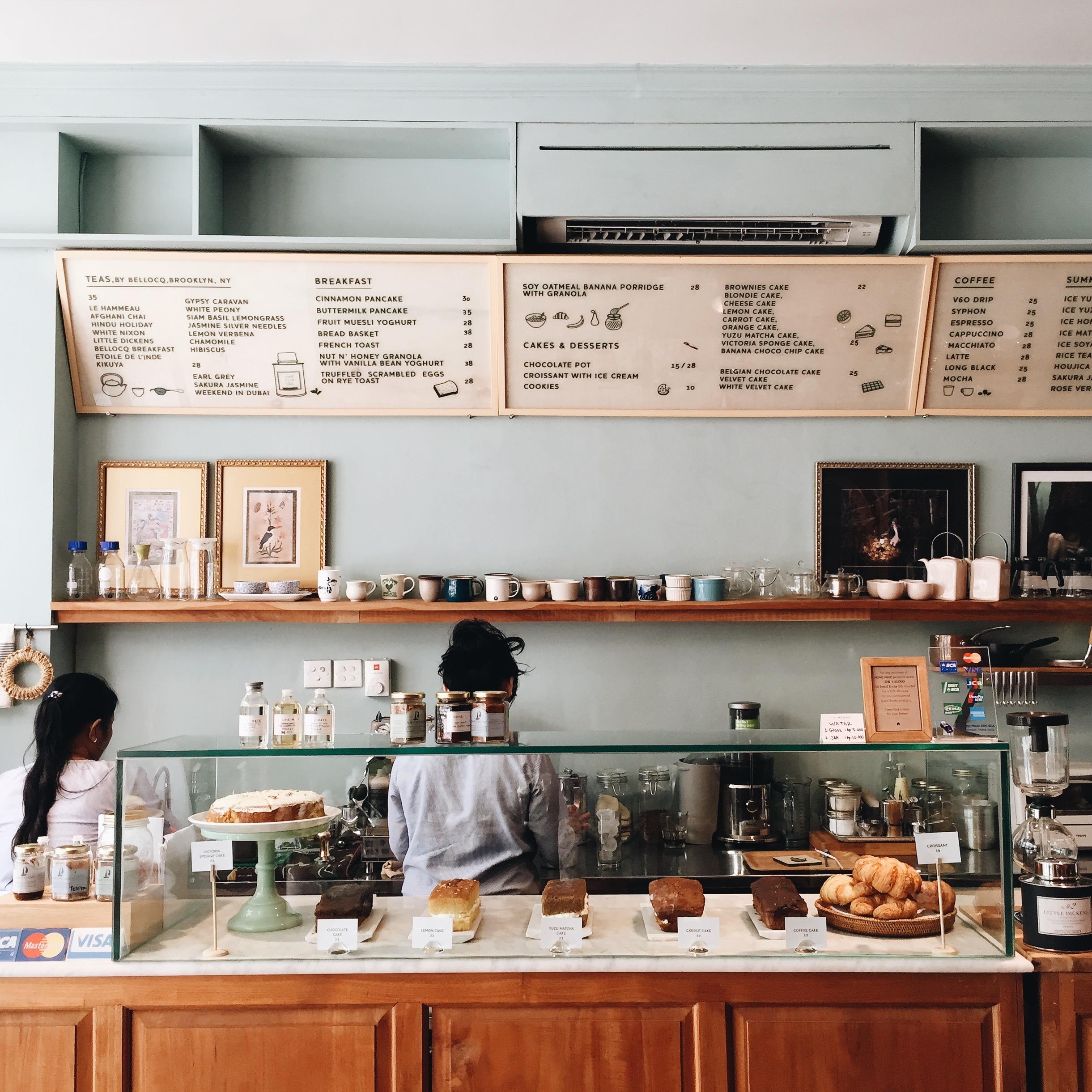 Chic cafés abound in Seminyak.