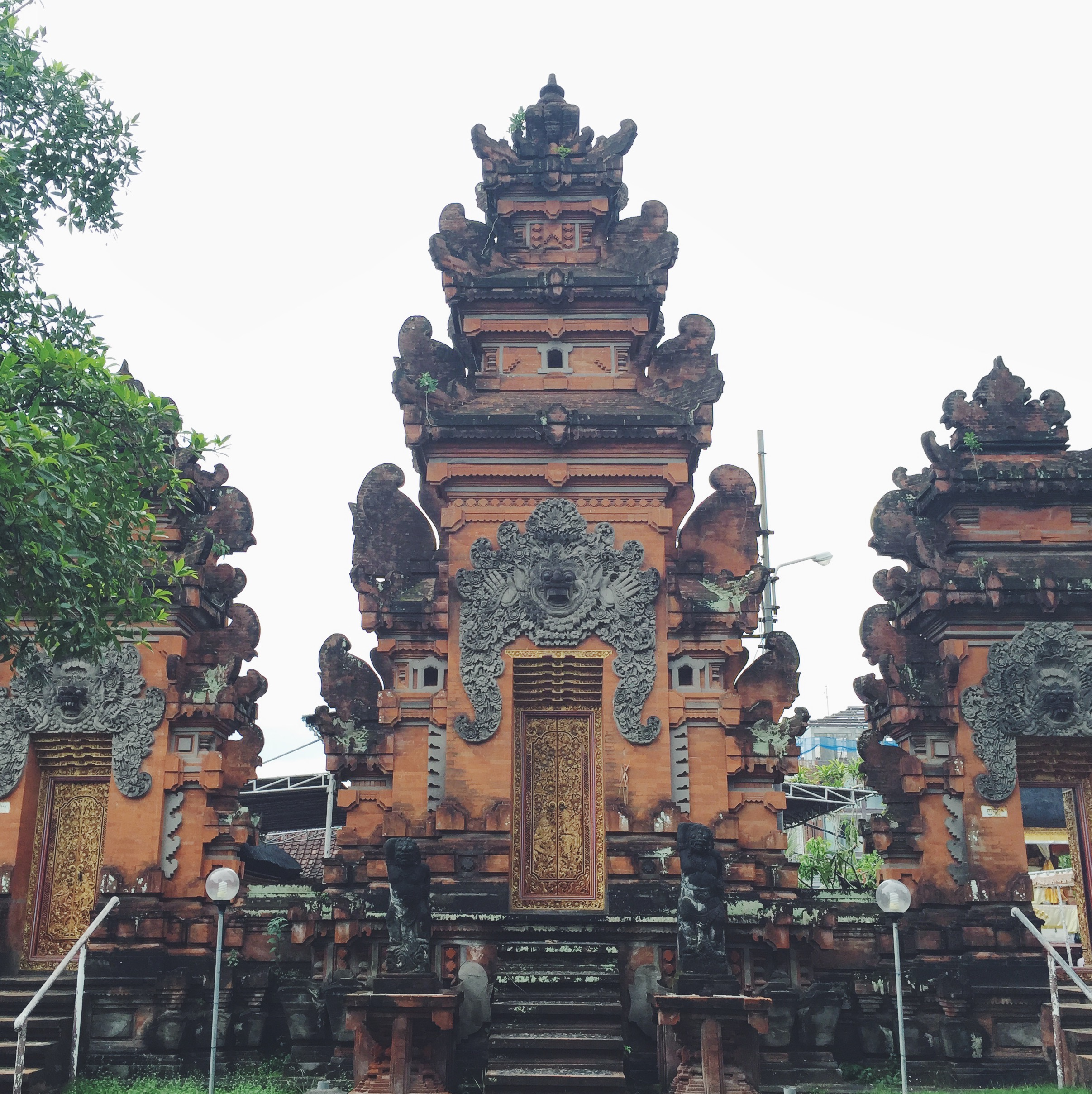 One of the many temples we visited.