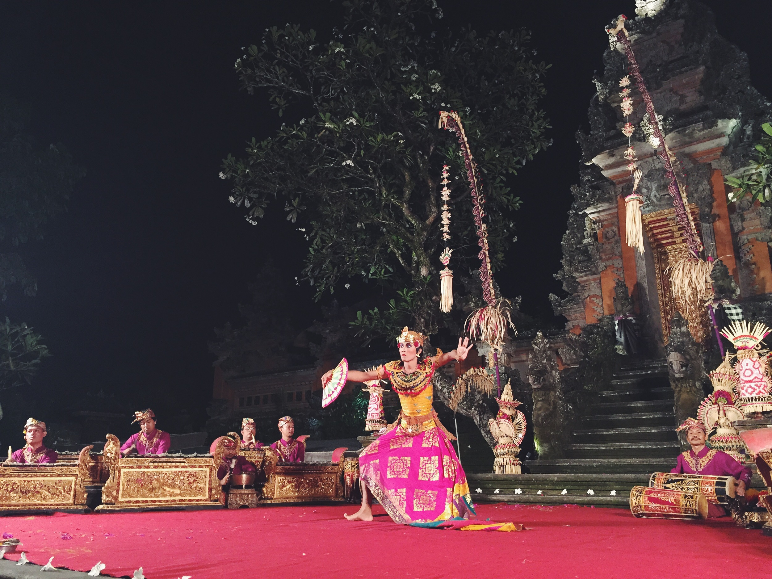 One of the many traditional Balinese dance performances offered in Ubud. All are recommended.