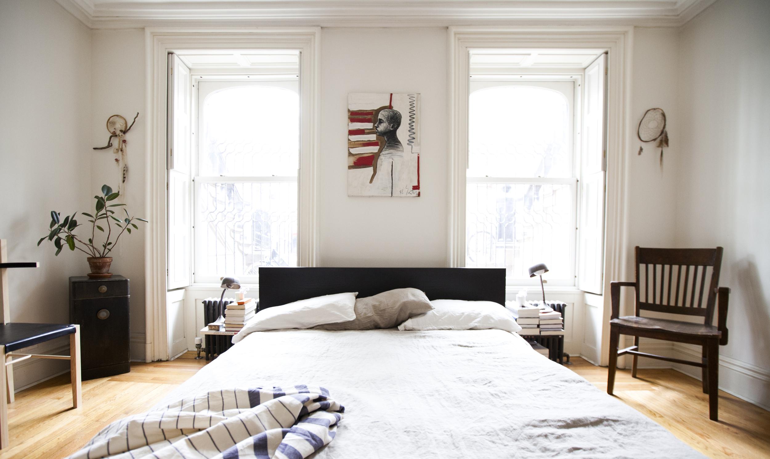 Soren Chair by Coil + Drift, Wall Hangings by Alyssa Eckert
