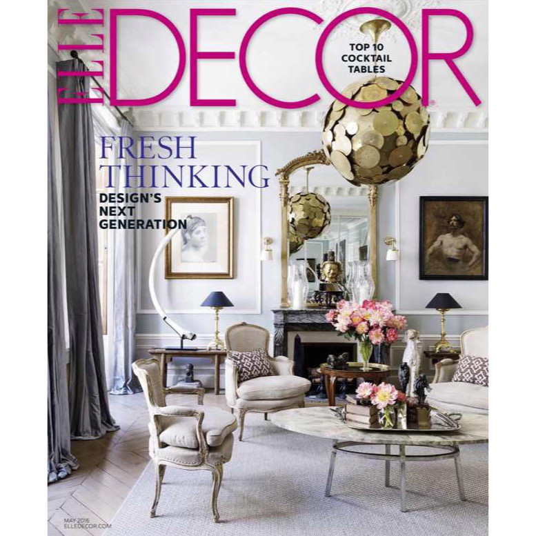 ELLE Decor, May 2016