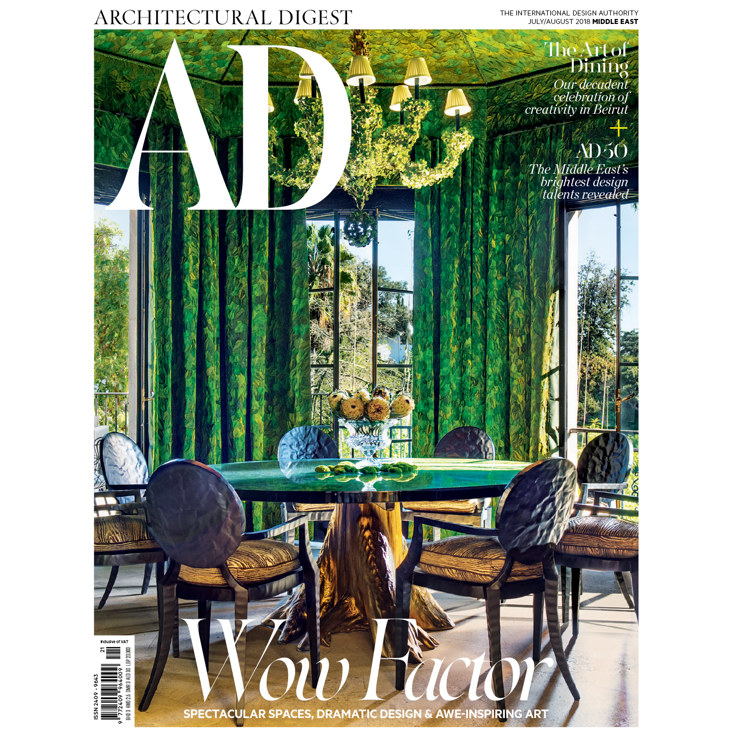 AD Middle East, July 2018