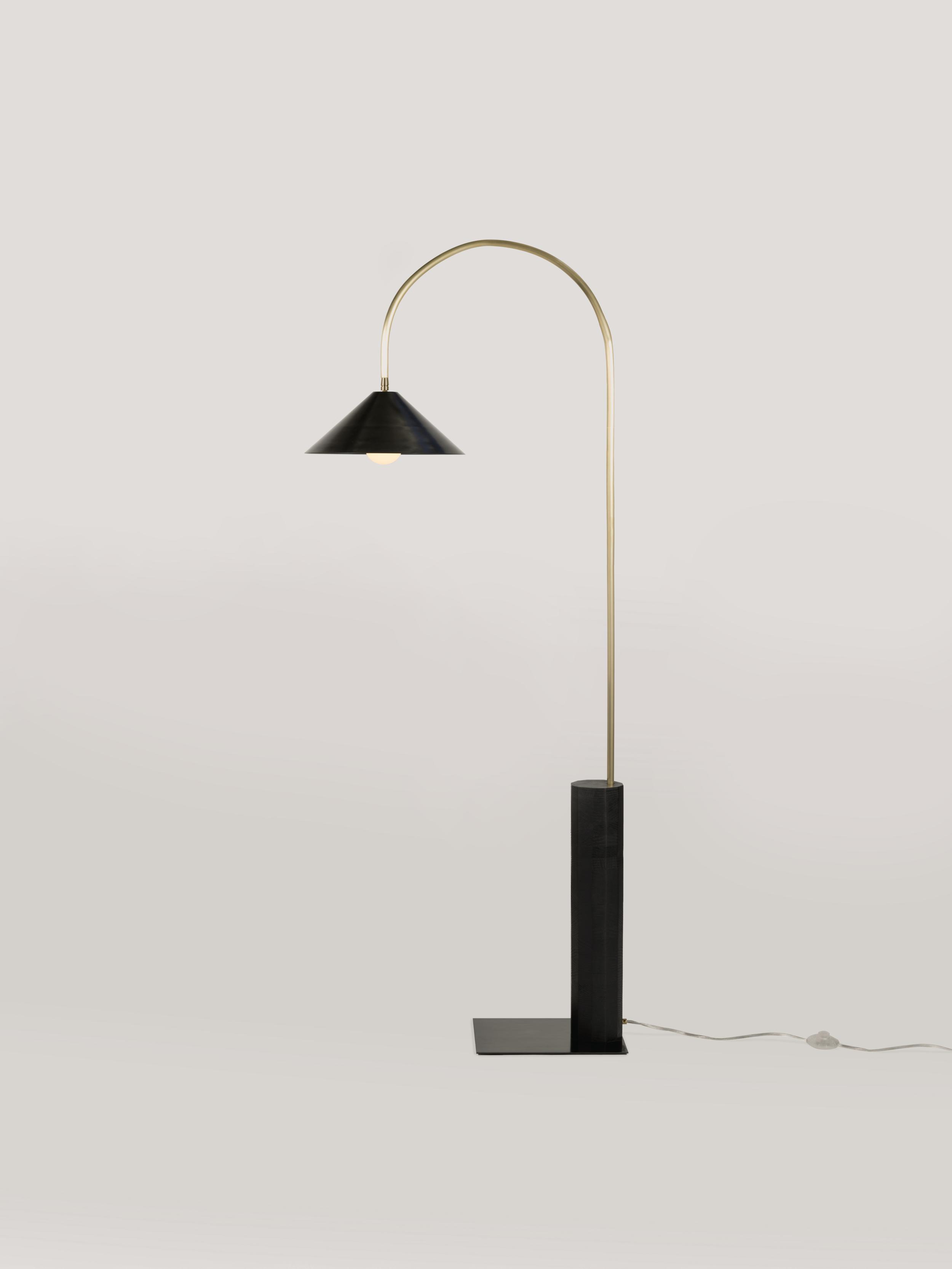 Bi Tall Floor Lamp Coil Drift