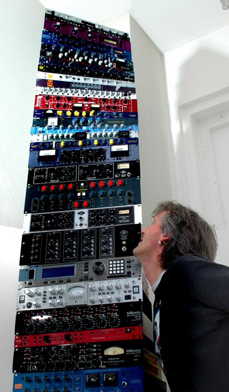 Andreas Michel carefully balancing his brands