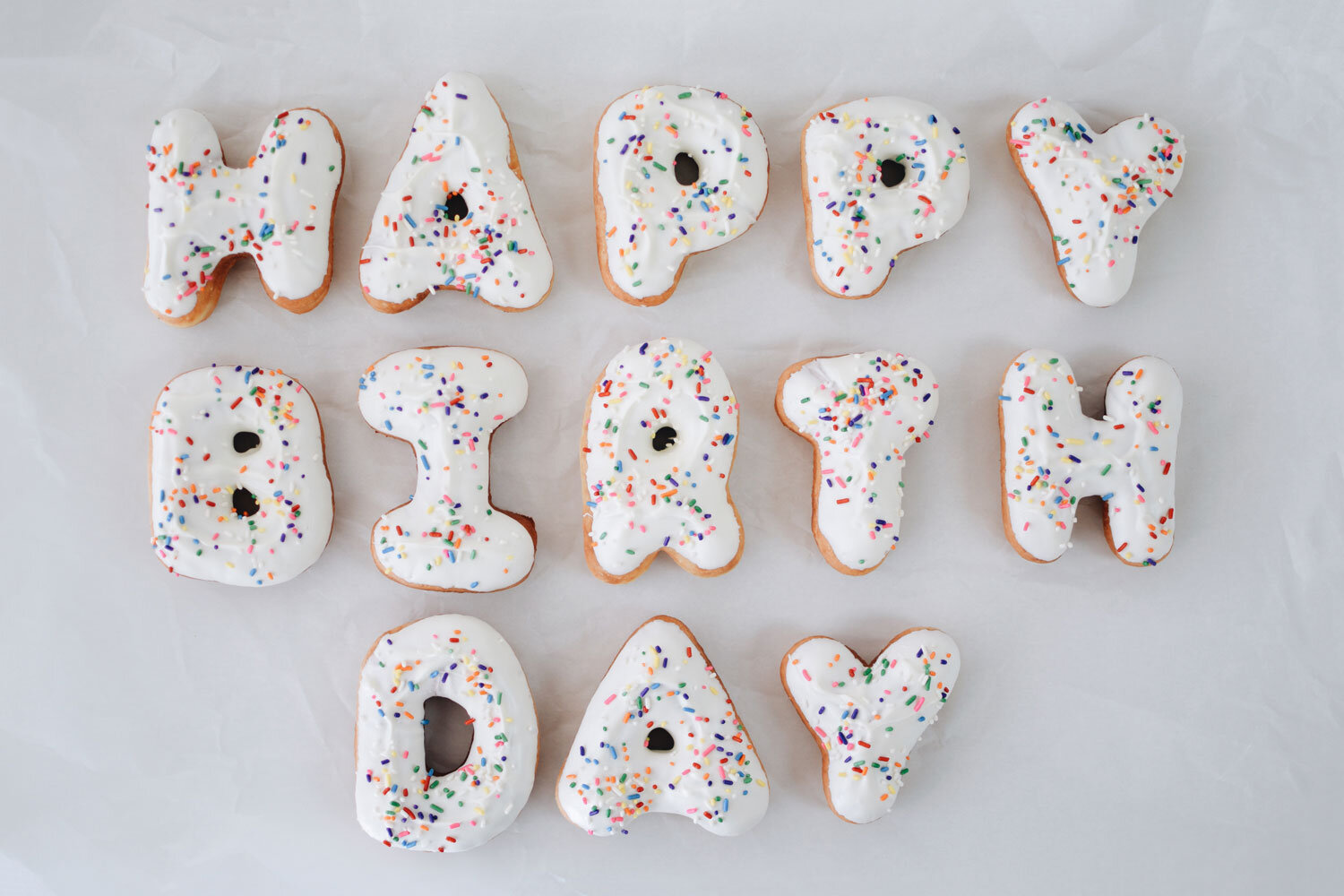 Letter Donuts Image