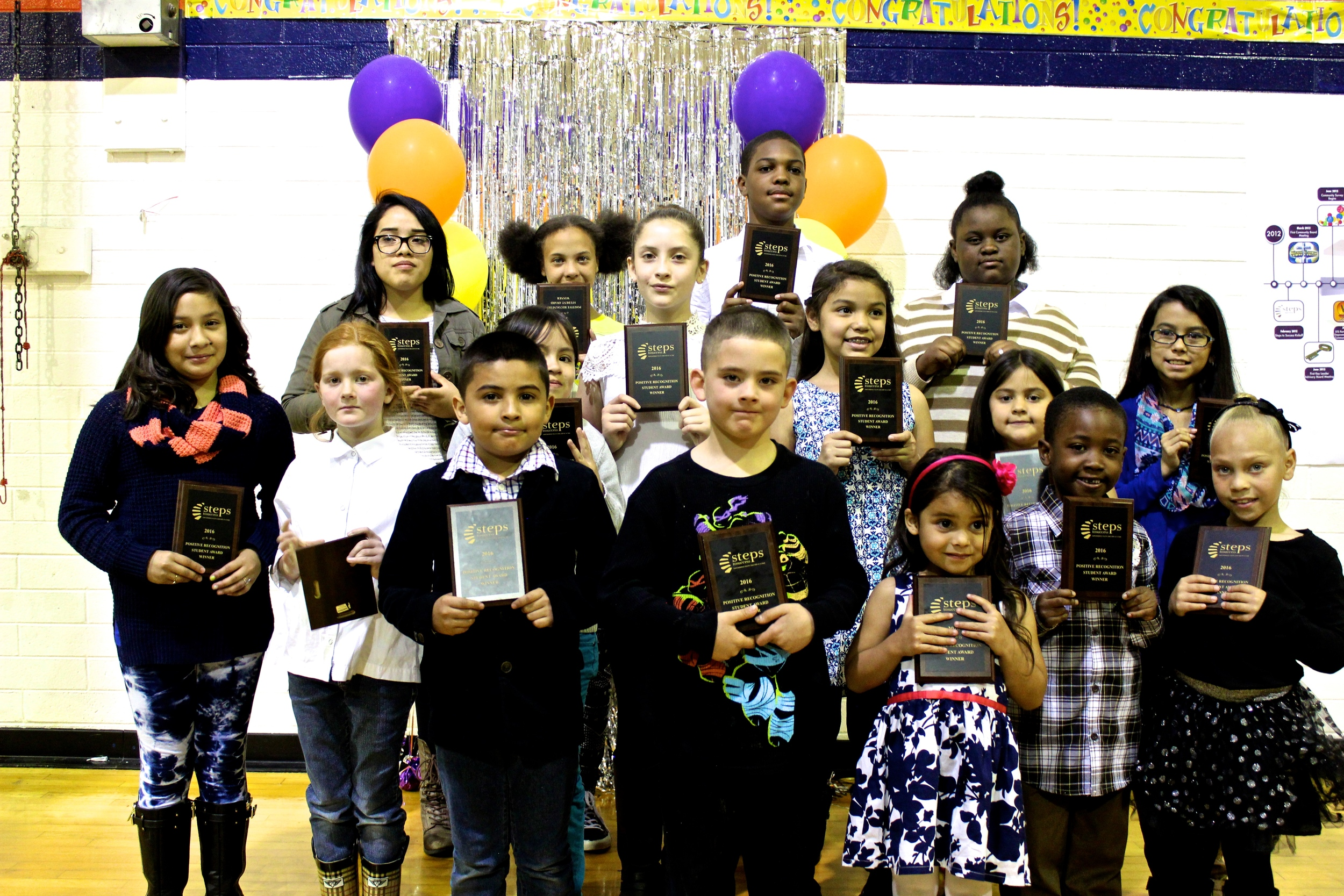 2016 Positive Recognition Student Awards