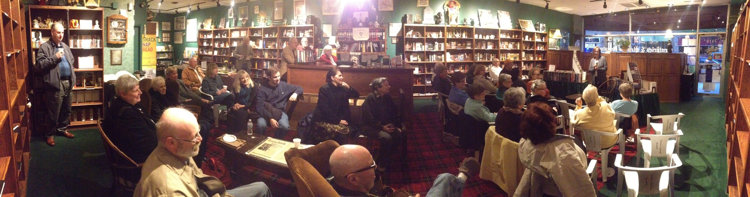 Chicago Book Launch at Centuries and Sleuths, May 16, 2014