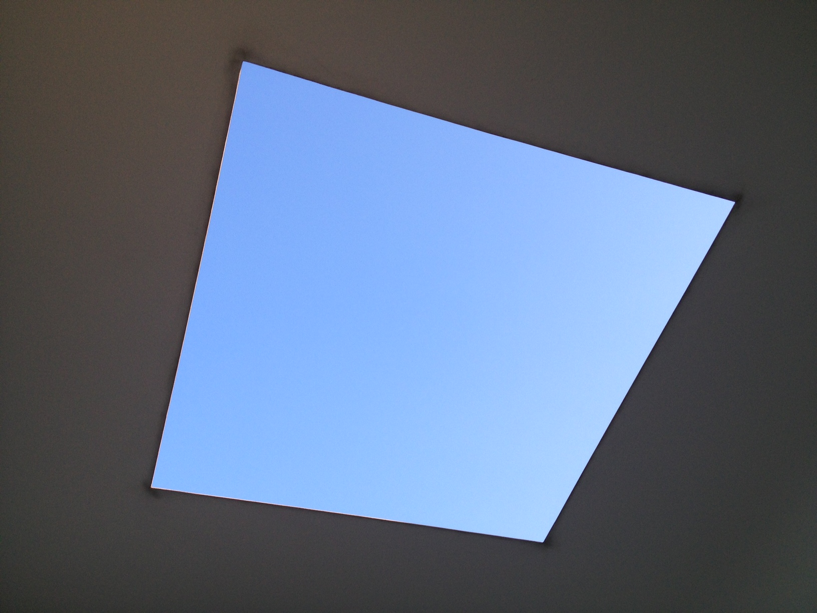 Twilight Epiphany, 2012 by James Turrell. Photo by Kim Tidwell, August 24, 2013