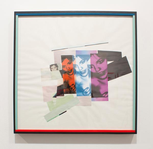 """Jennifer Schwarting. """"Make Something Implied More Definite (Reinforce, duplicate)."""" Collage"""