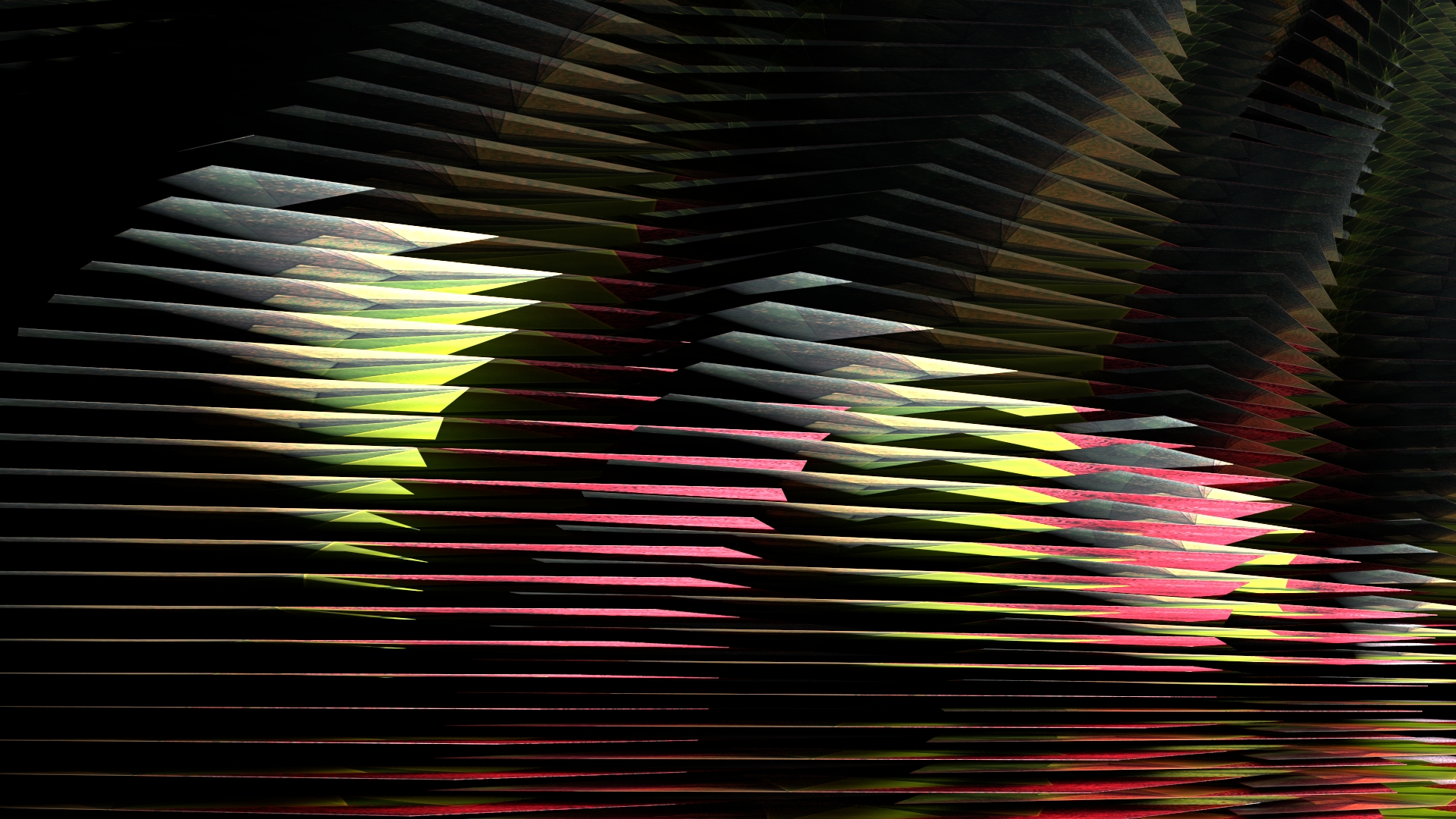 Elevation no. 24, digital image rendered with 3D modeling software, 2014