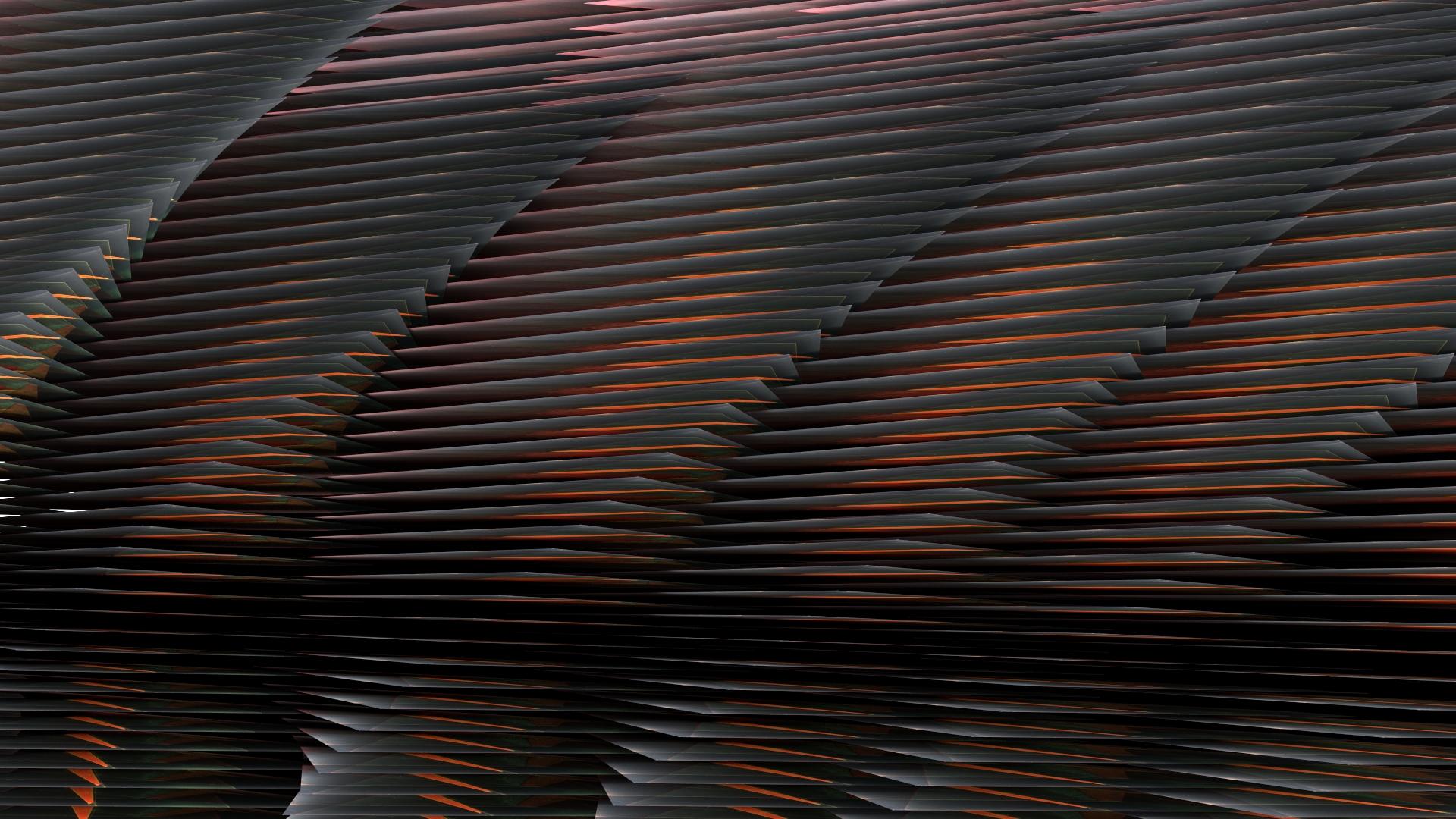 Elevation no. 3, digital image rendered with 3D modeling software, 2014