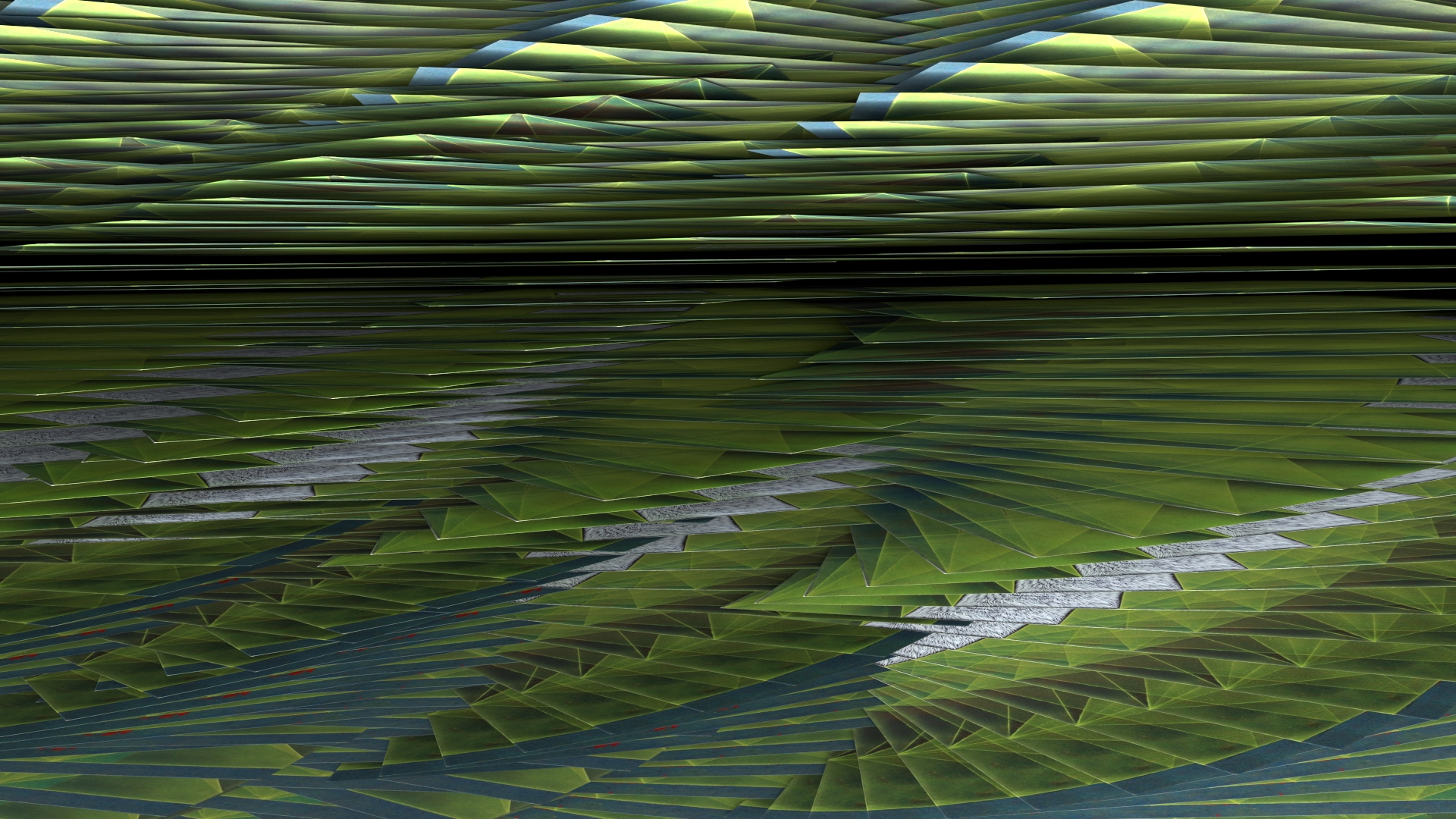 Elevation no. 13, digital image rendered with 3D modeling software, 2014