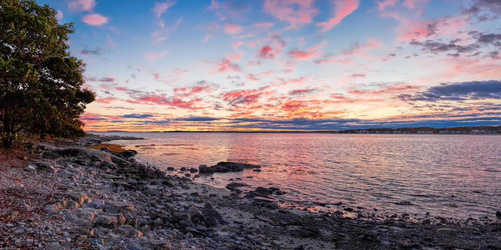 Timber Sunset Panorama