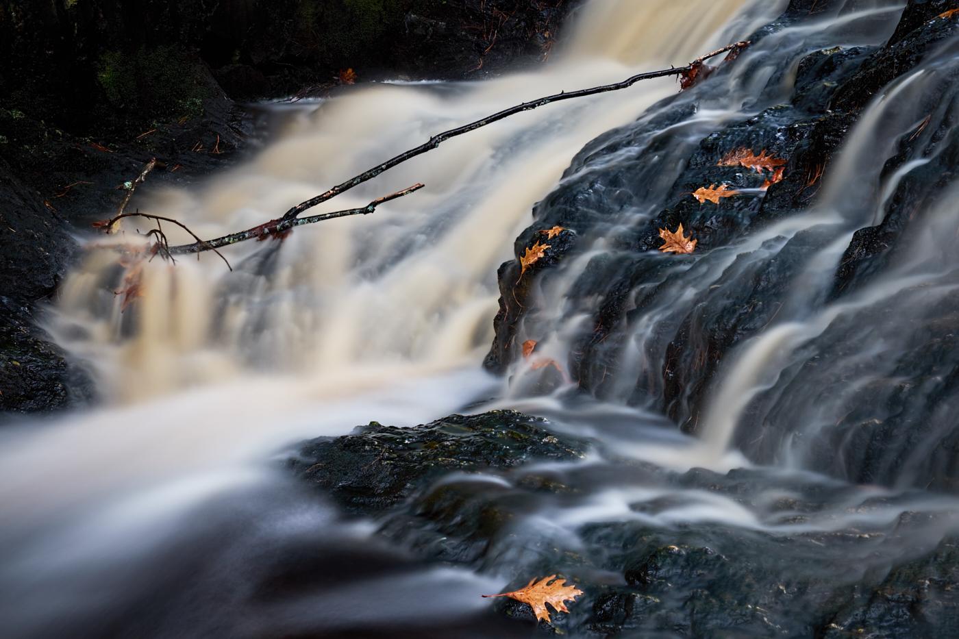 Autumn Tumbling Water