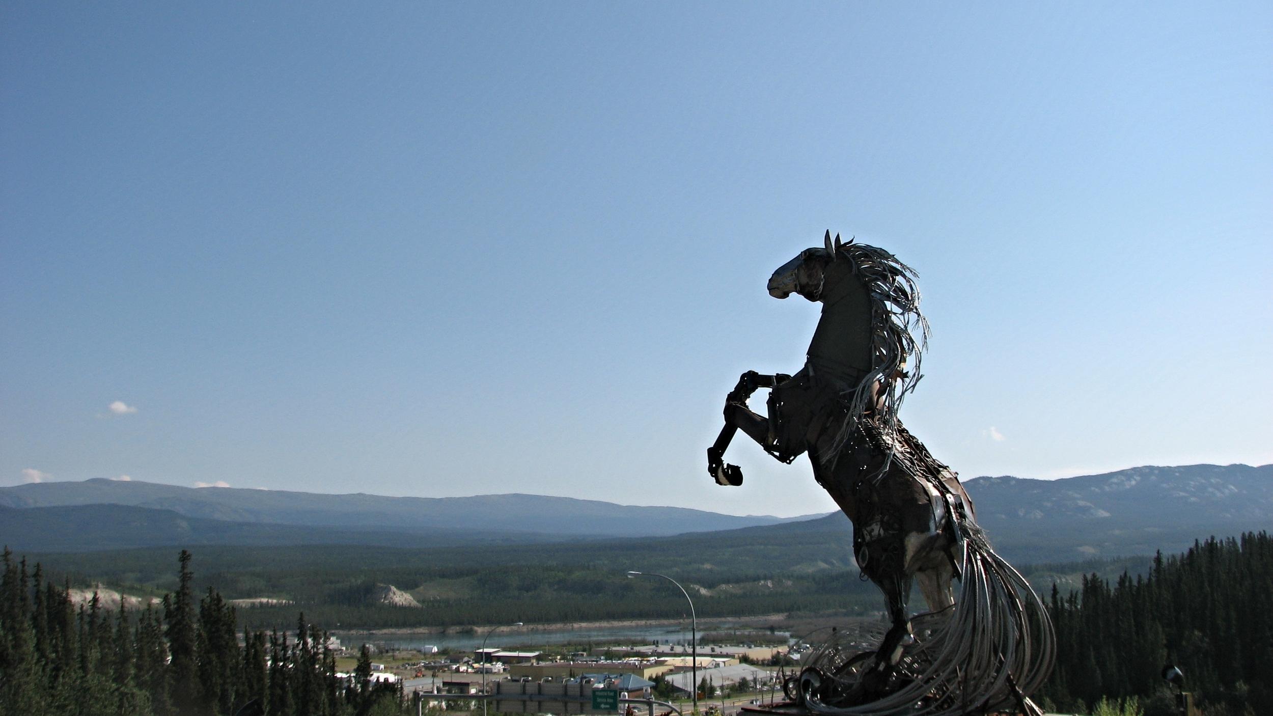 Whitehorse, capital of The Yukon