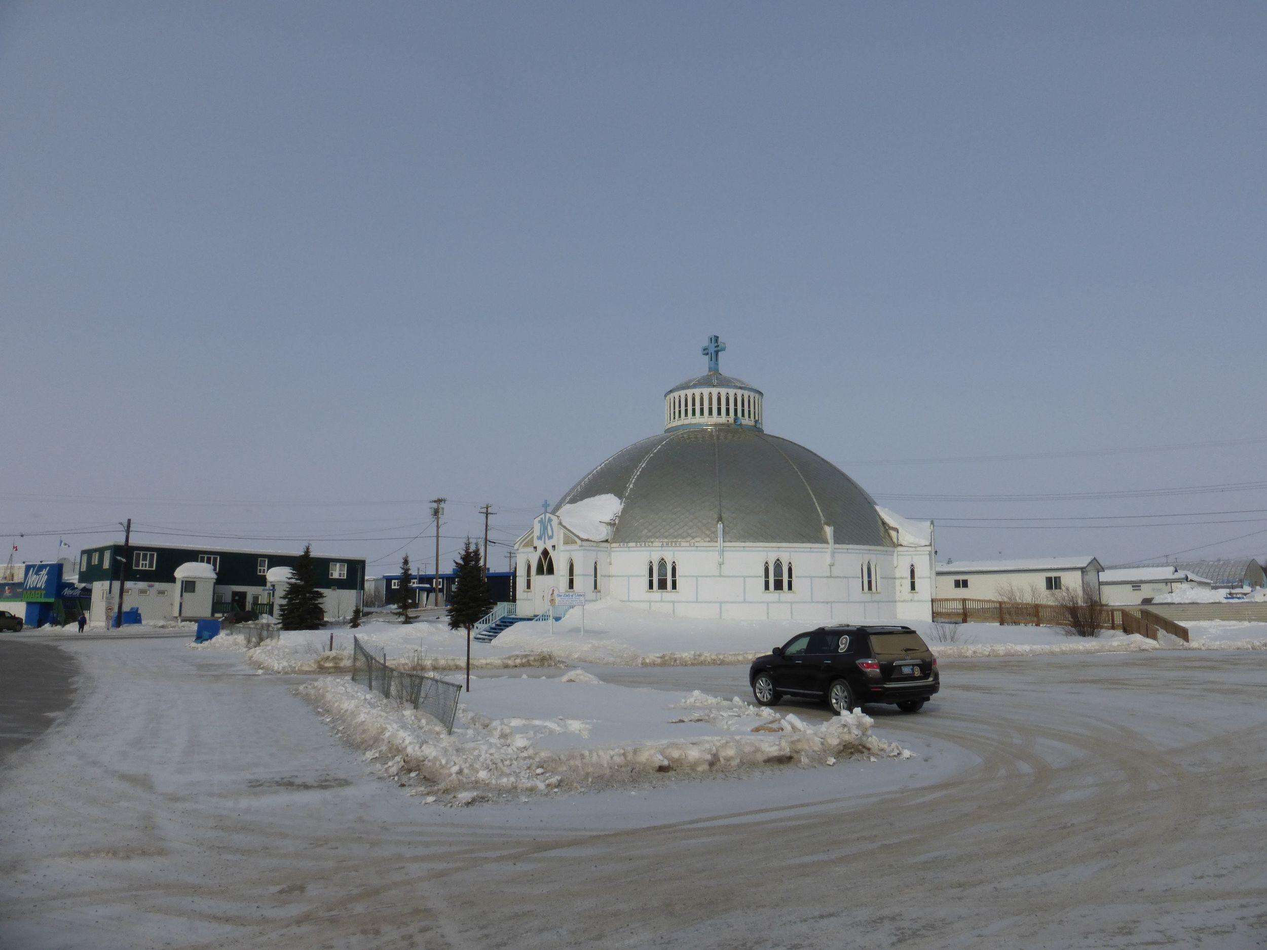 Inuvik's Igloo church