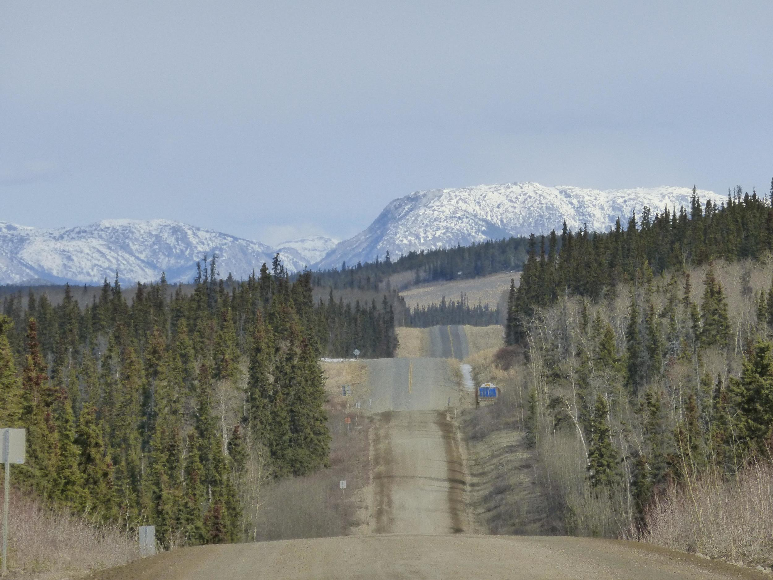 The rolling hills of Yukon