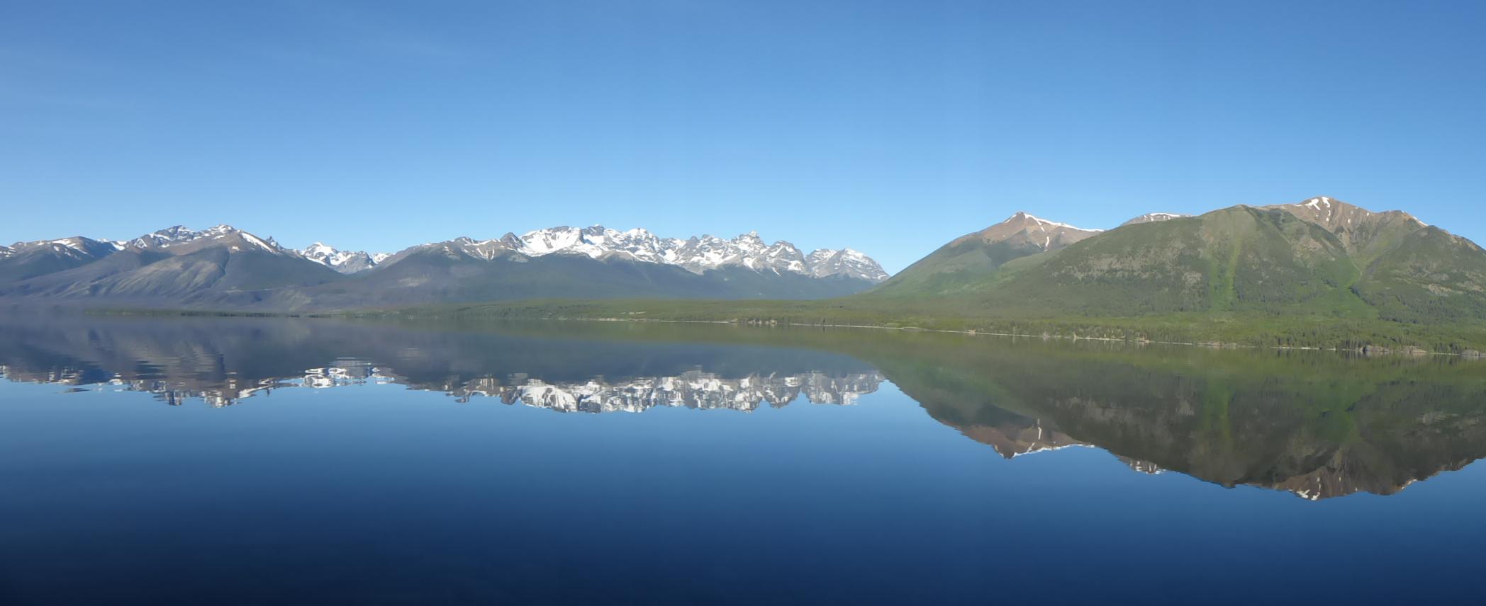 Perfect lake, Chilko Lake