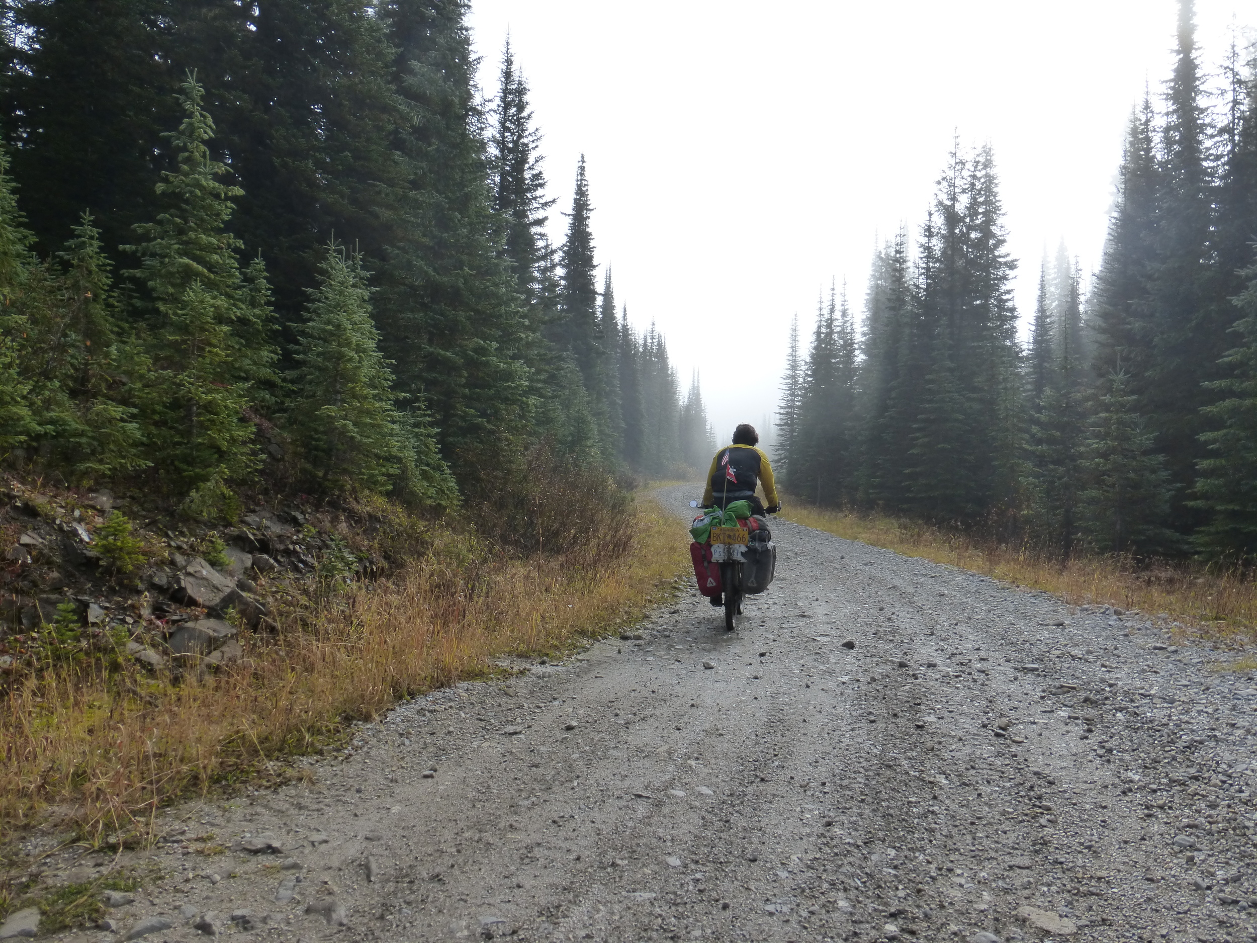 The misty Flathead Pass 1/3. (Click to see full size)